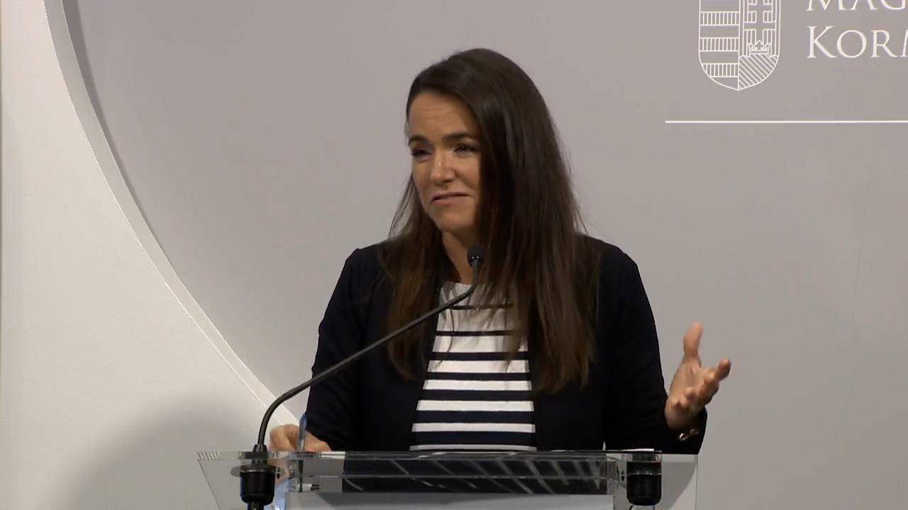 Novák Katalin a lehallgatási botrányról: Sajtóhírekkel nem foglalkozom