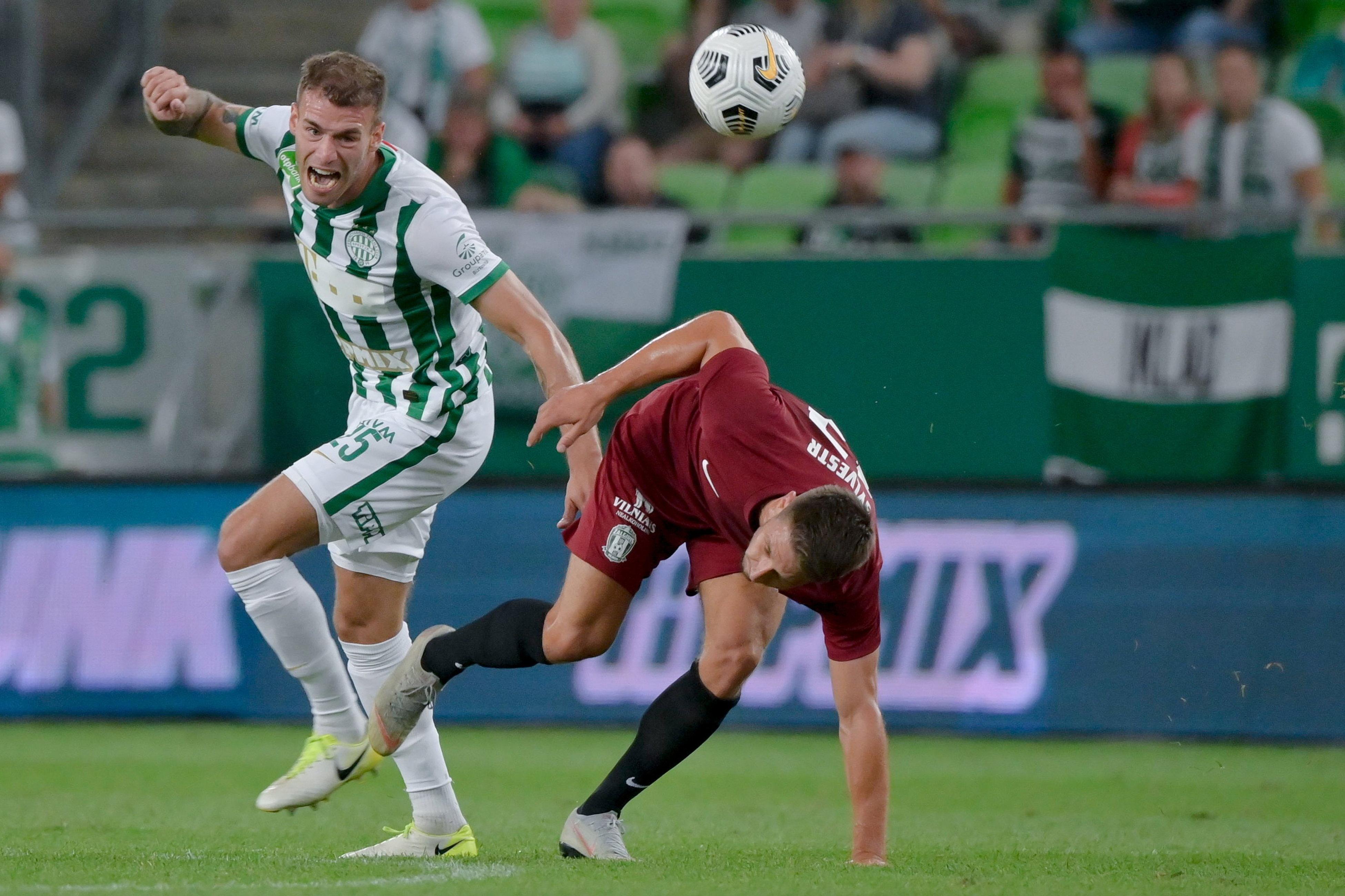 2:0-ra nyert a Fradi hazai pályán a litván Zalgiris ellen