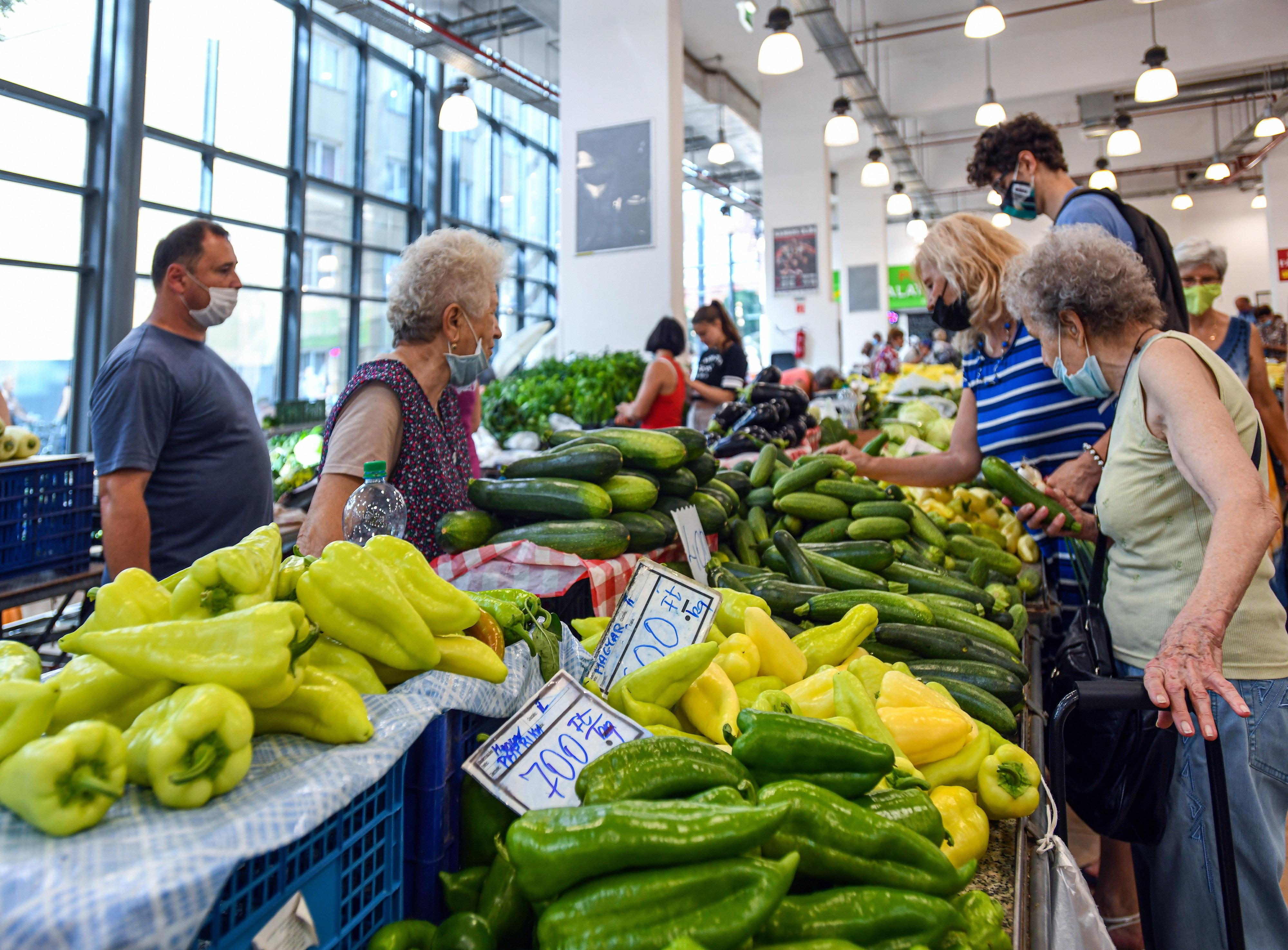 A zöldségeknek sem hiányoztak a viharok