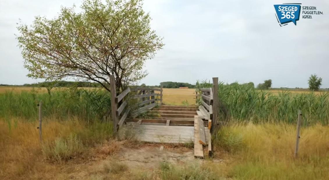 Elloptak egy hidat Sándorfalván