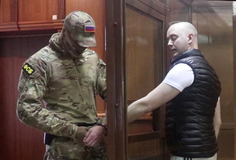 Terheléses támadás ért egy orosz híroldalt, miután egy bebörtönzött újságíró cikkét közölték le
