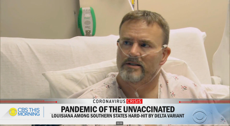 Inkább újra kórházba kerülne coviddal egy amerikai férfi, mint hogy beoltassa magát