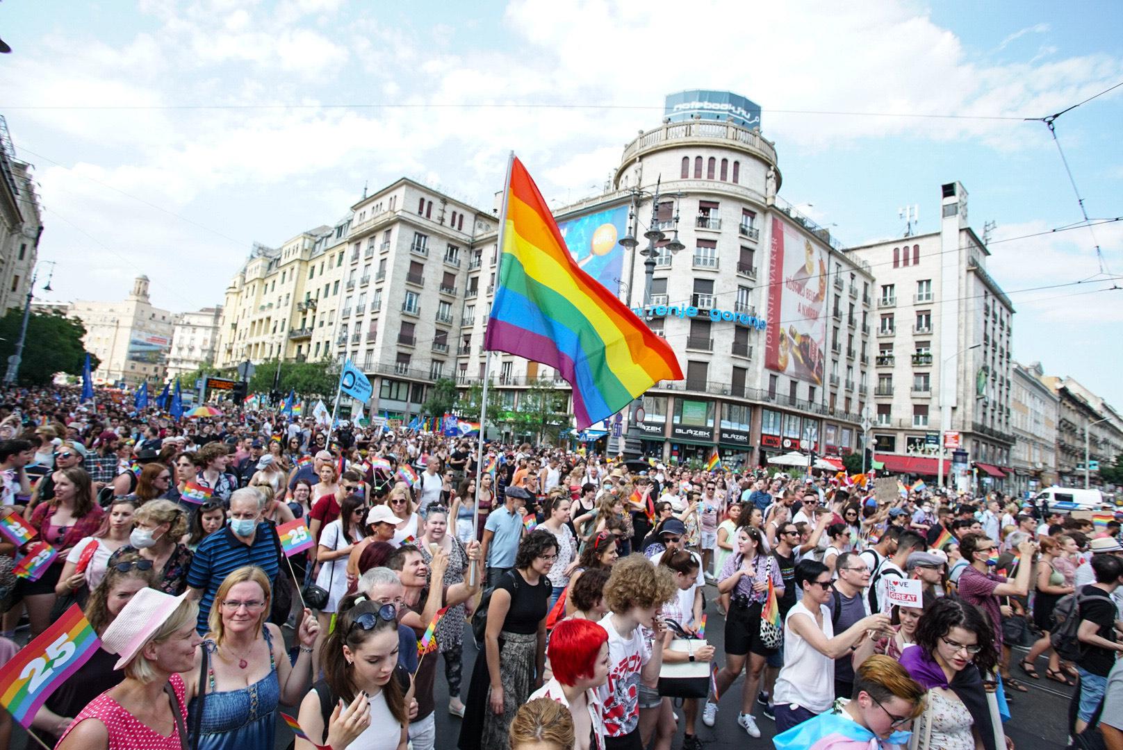 A szervezők szerint az idei volt Magyarország eddigi legnagyobb Pride felvonulása
