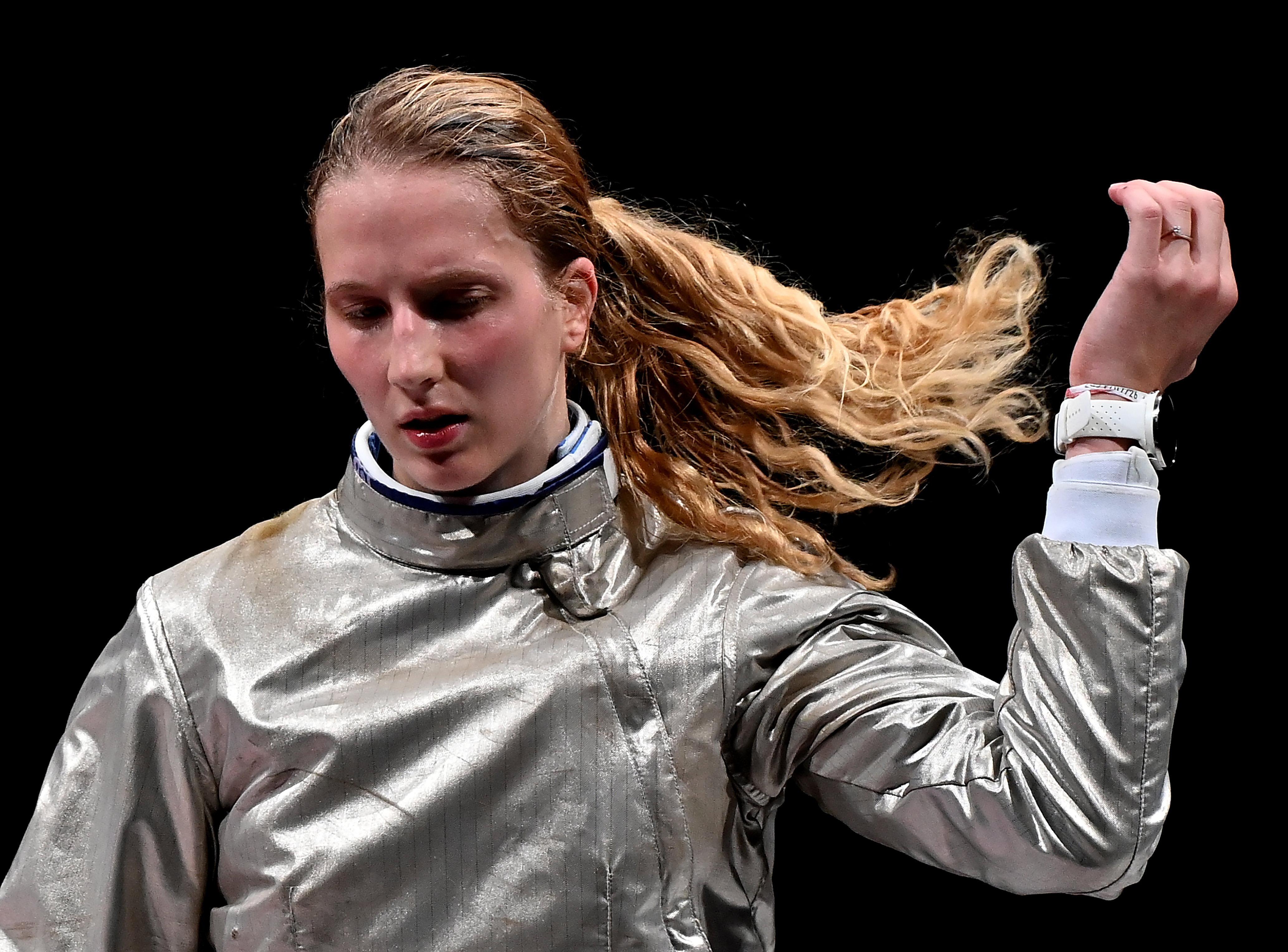 Márton Anna negyedik lett női kard egyéniben