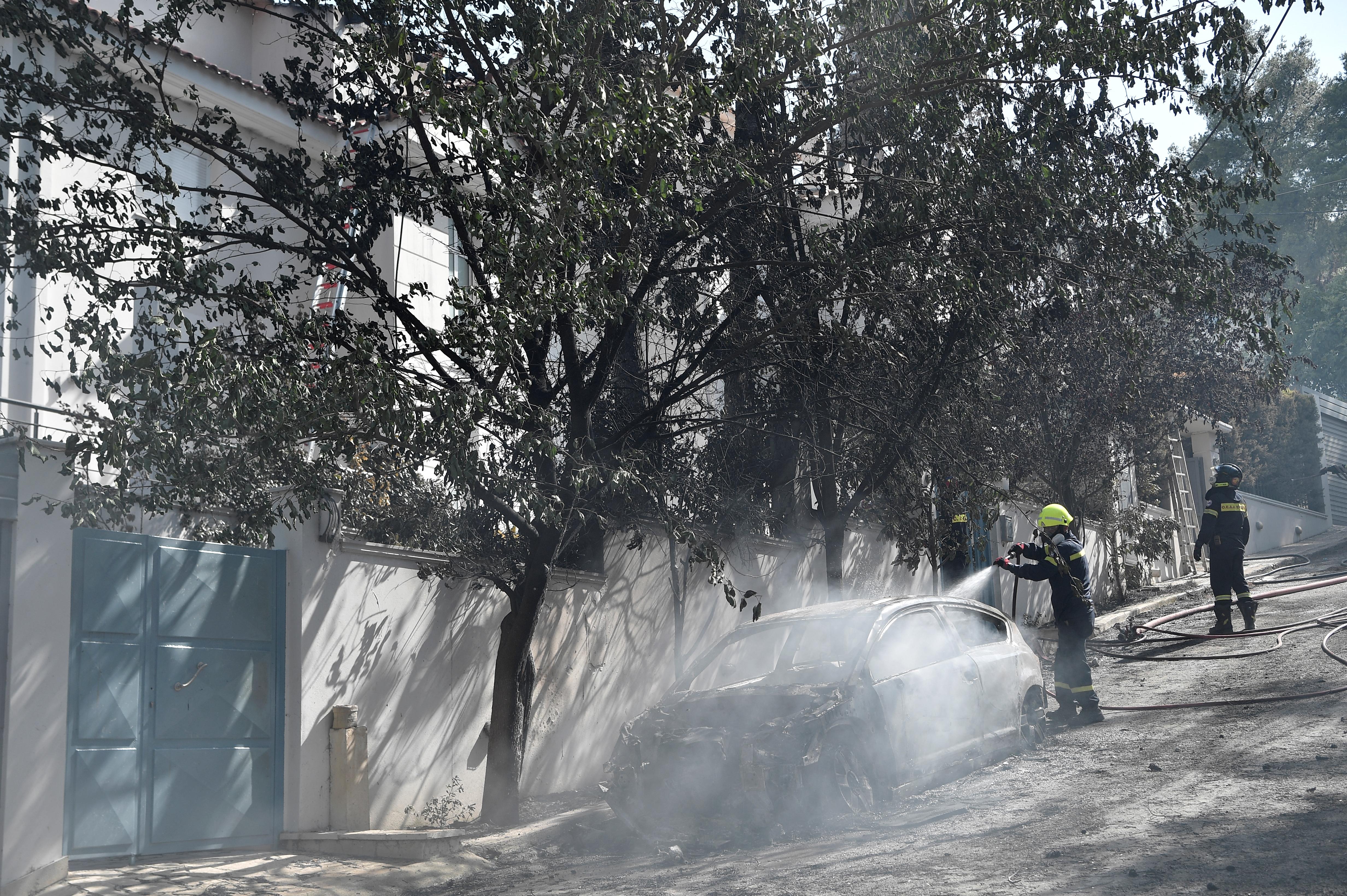 Házak semmisültek meg a görög erdőtüzek miatt
