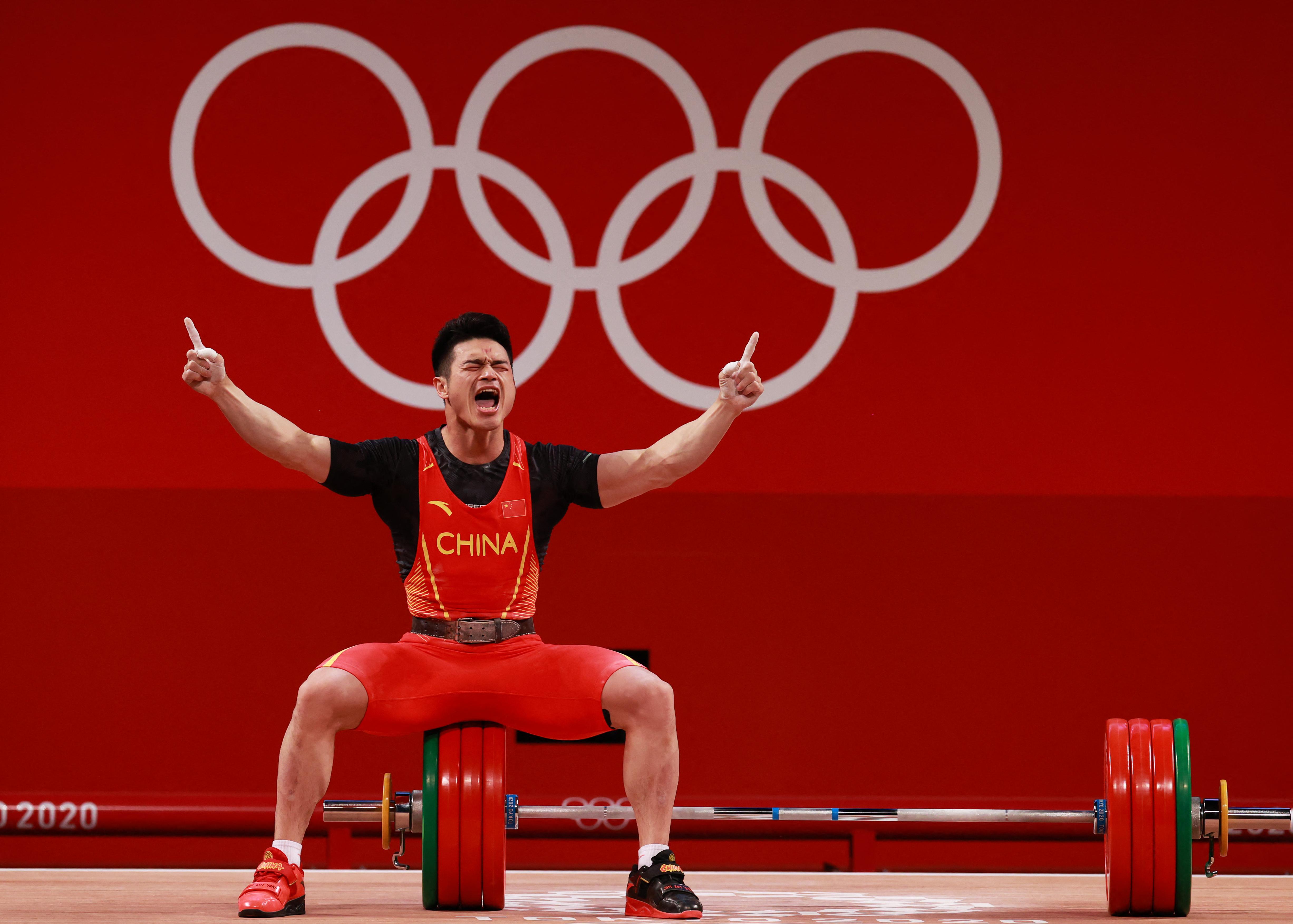 Arcod, amikor nyersz az olimpián
