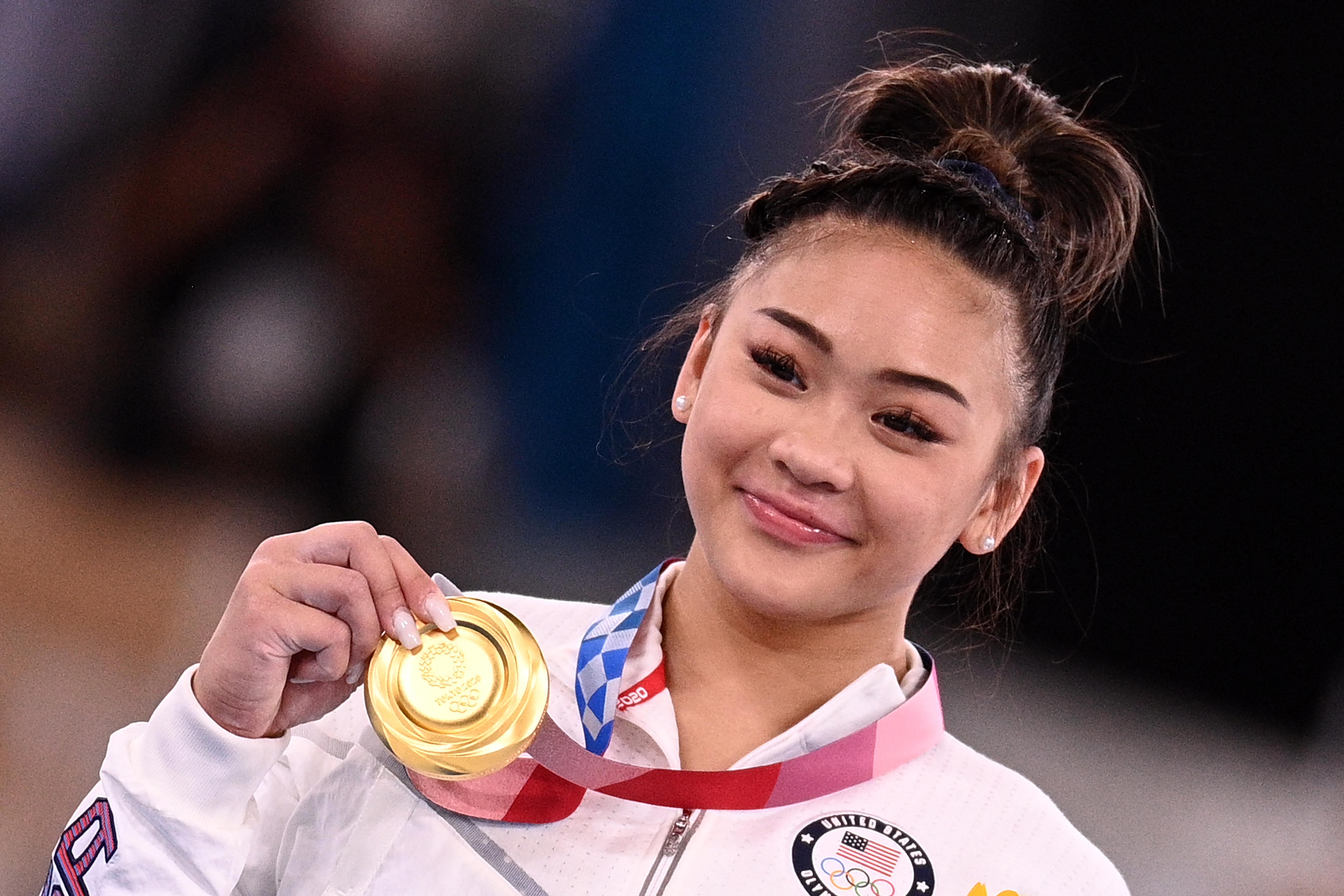 Az amerikai torna legújabb csillaga a világ egyik leghányatottabb sorsú népének is szerzett egy aranyat