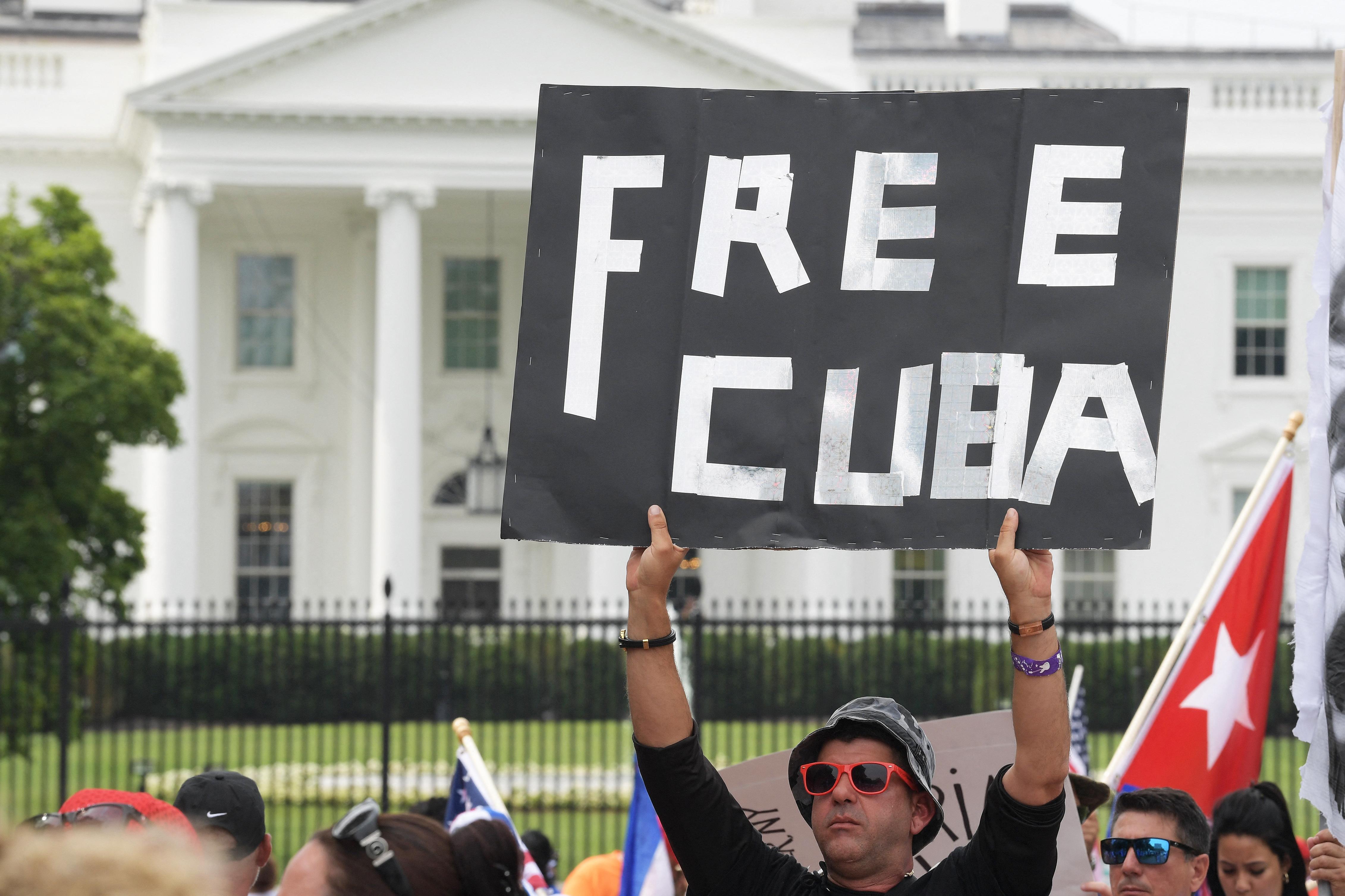 A kubai rendőrséget is szankcionálja az USA