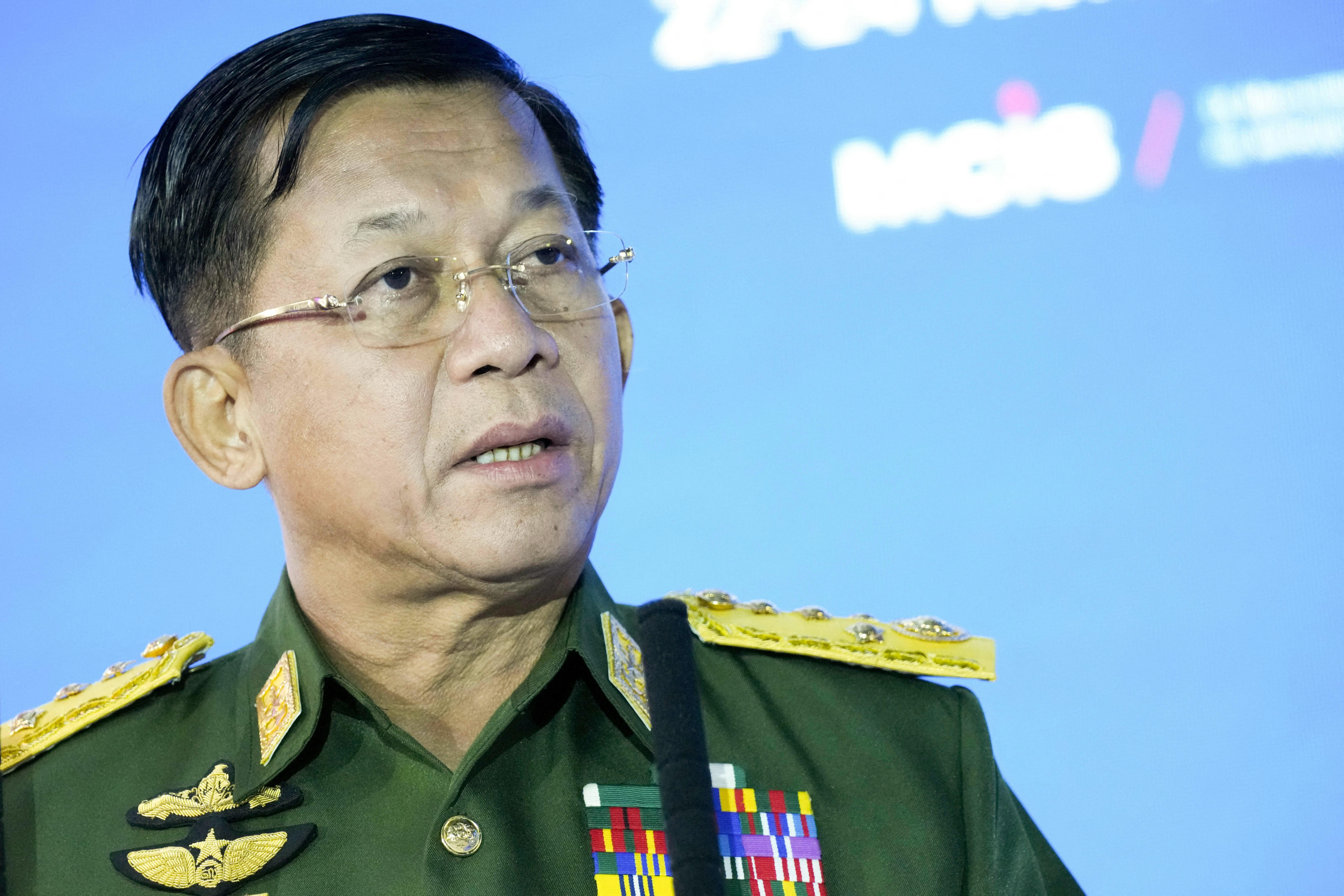 2023-ra ígér választásokat a mianmari katonai vezetés