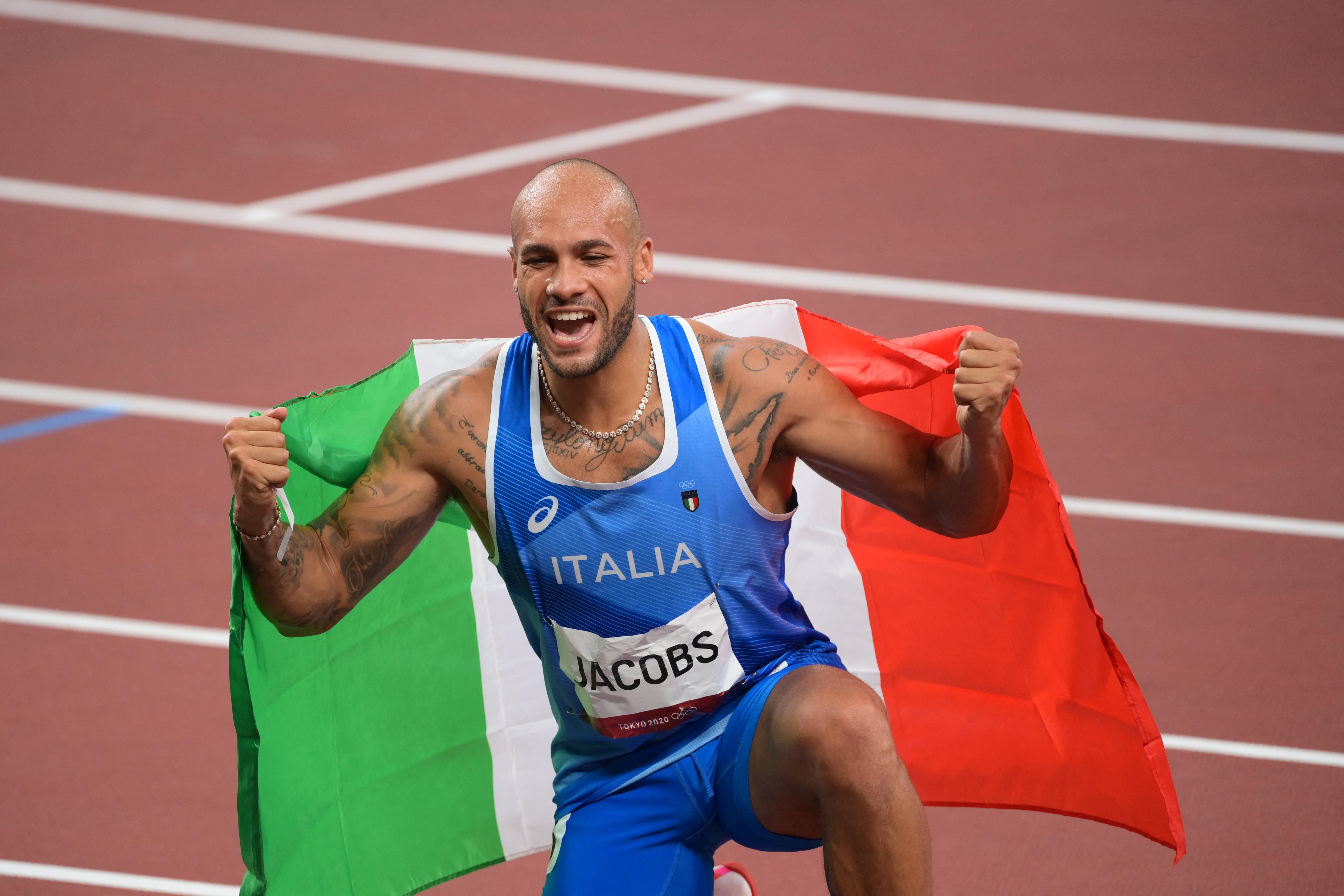 Olasz arany férfi 100 méteren, világcsúcs női hármasugrásban