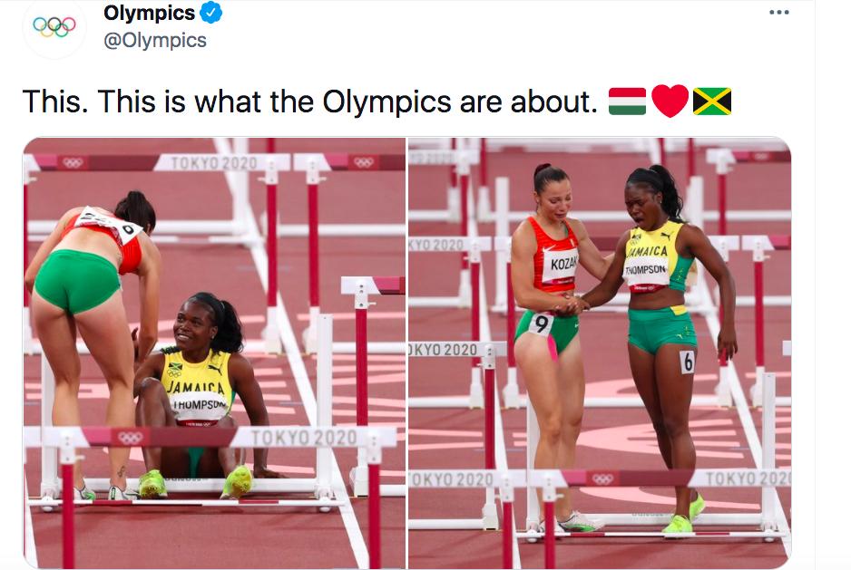 Magyar atléta sportszerűségét emelte ki az olimpia Twitter-oldala