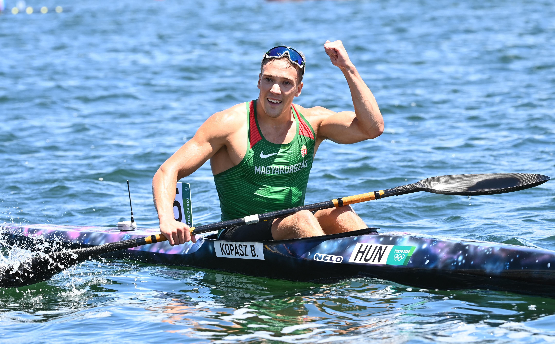 Kopasz Bálint olimpiai bajnok, Varga Ádám a második kajak ezer méteren