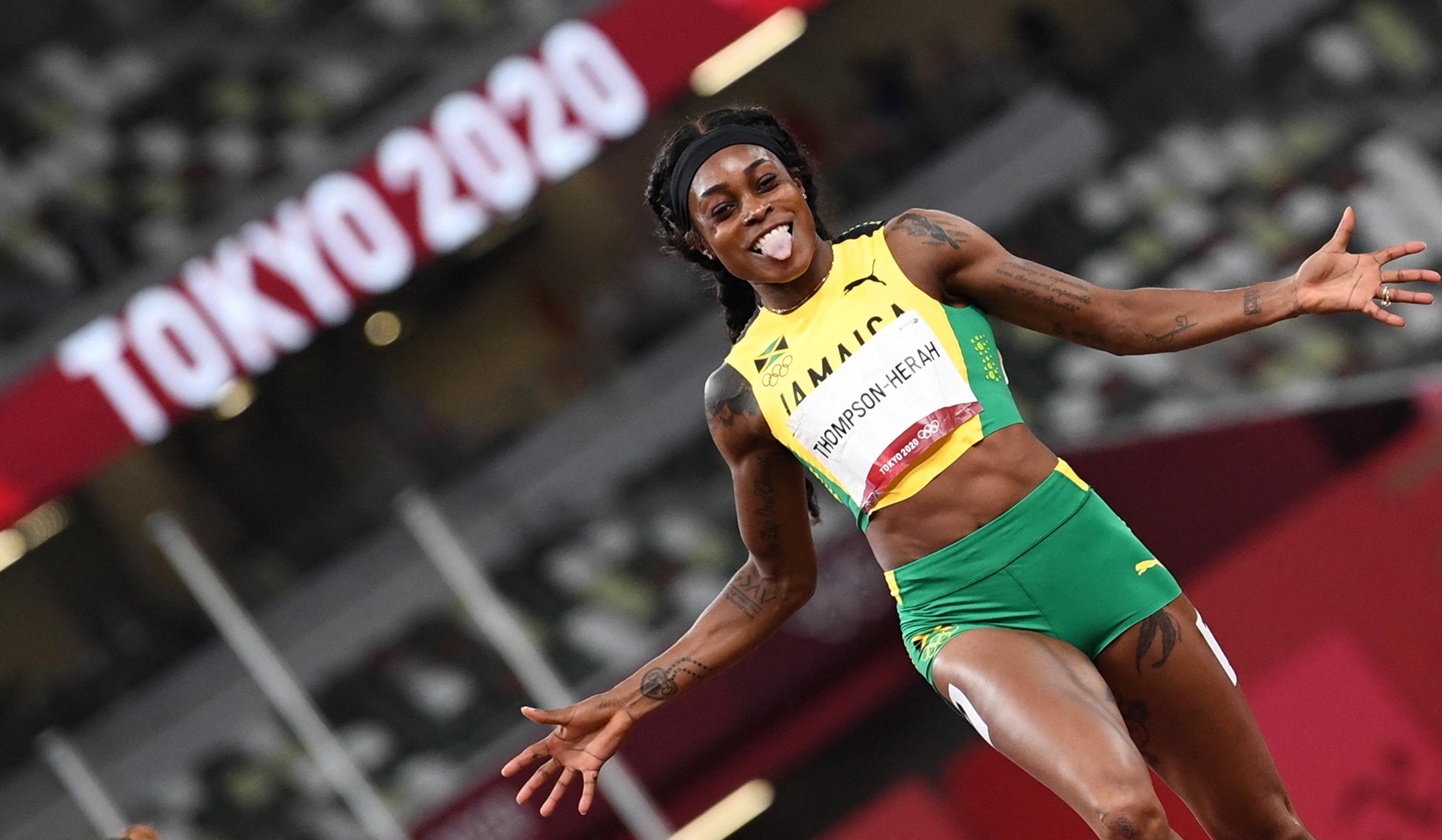 Elaine Thompson-Herah zsinórban második olimpiáján duplázott