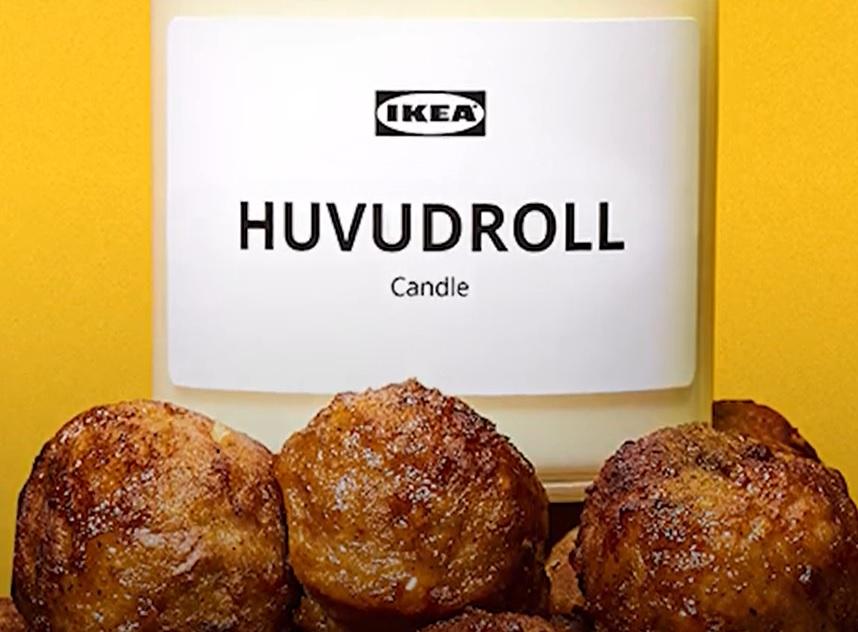Az IKEA húsgolyós illatgyertyát gyártott