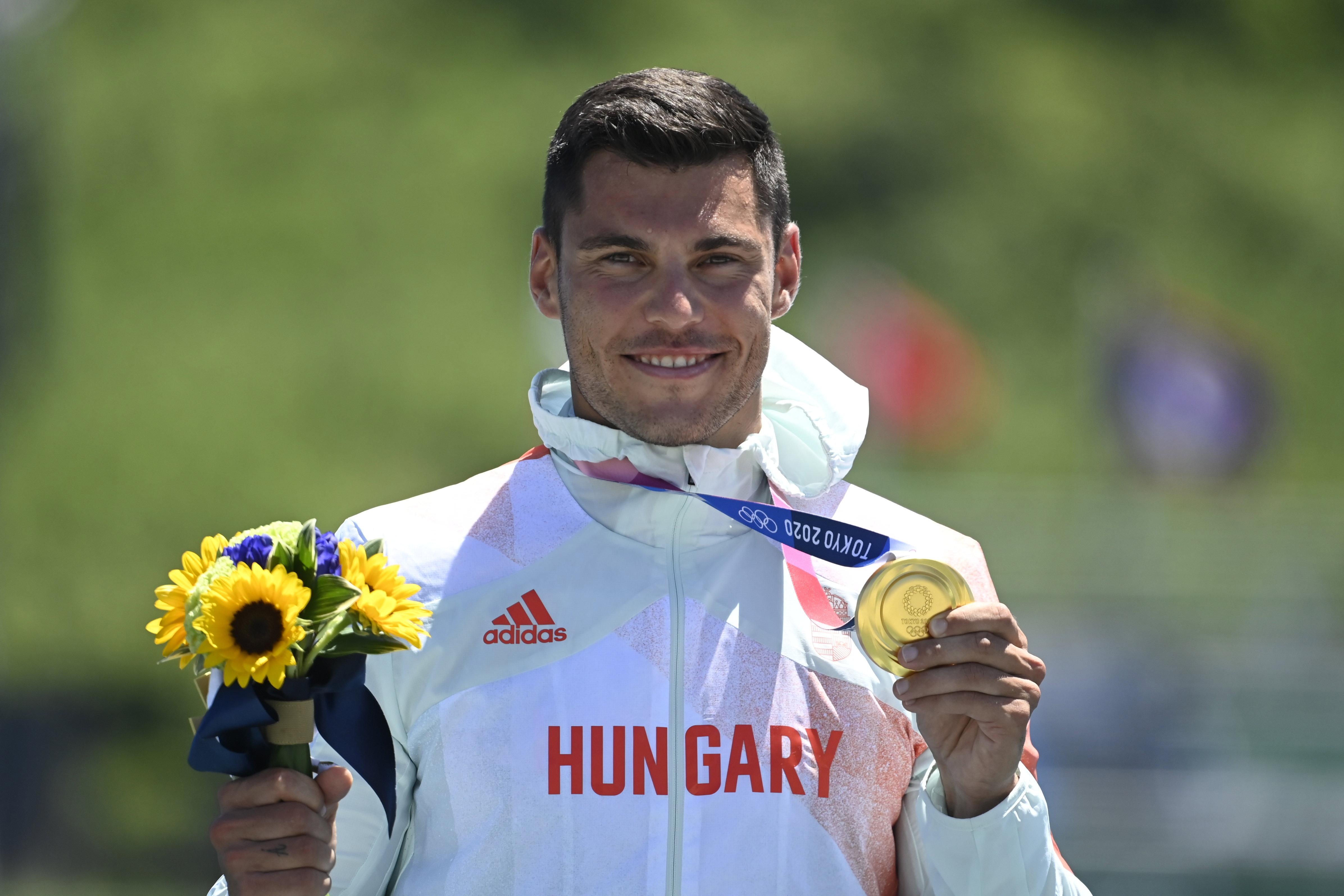 Itt nézheti meg Tótka Sándor kajak 200-on szerzett aranyérmét
