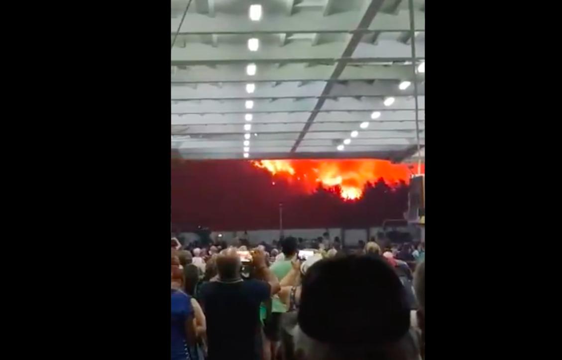 Mintha Mordorból menekültek volna az Evia szigetéről a tűz elől evakuált lakosok