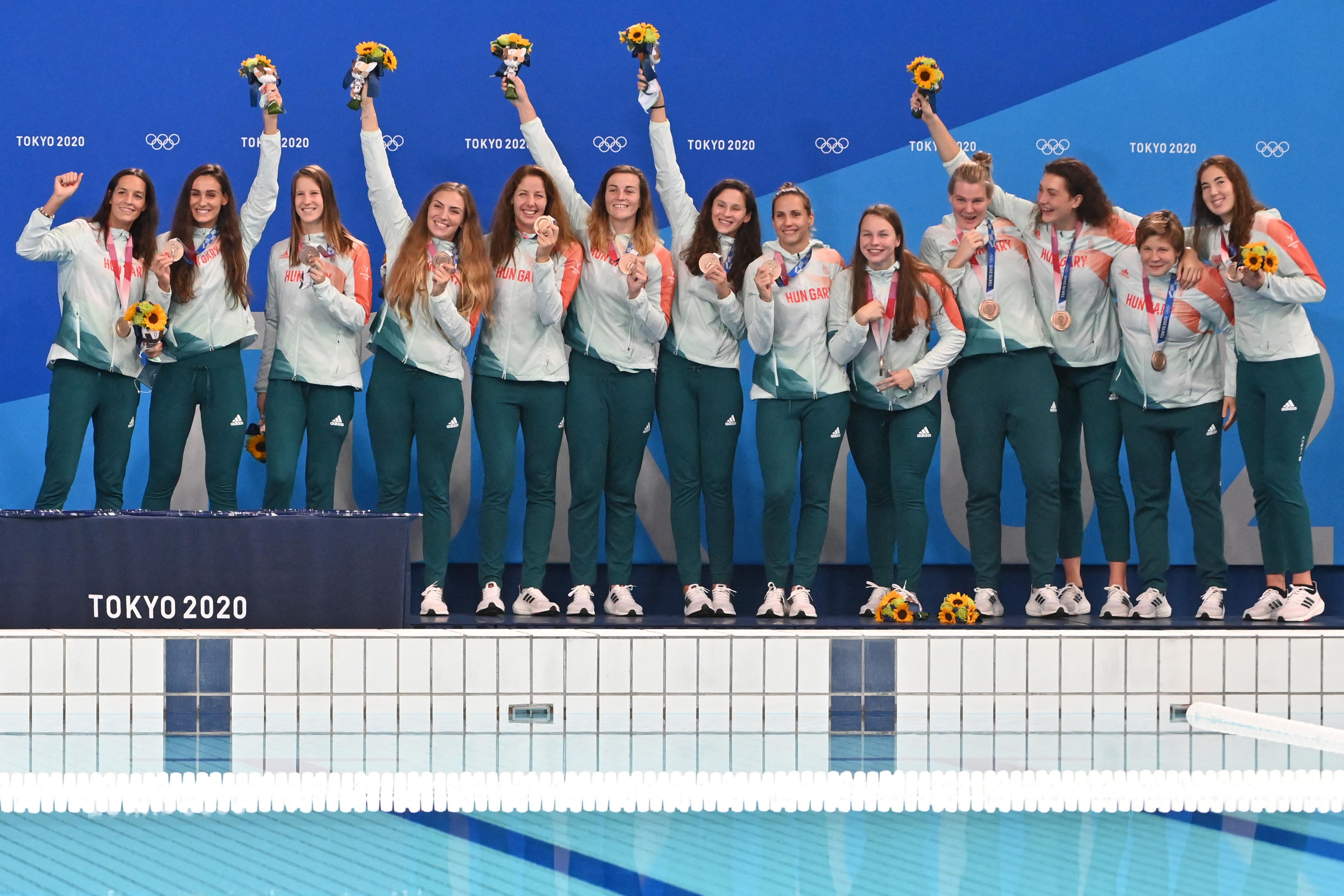 Aranyat és bronzot is nyertünk a tokiói olimpia utolsó előtti napján