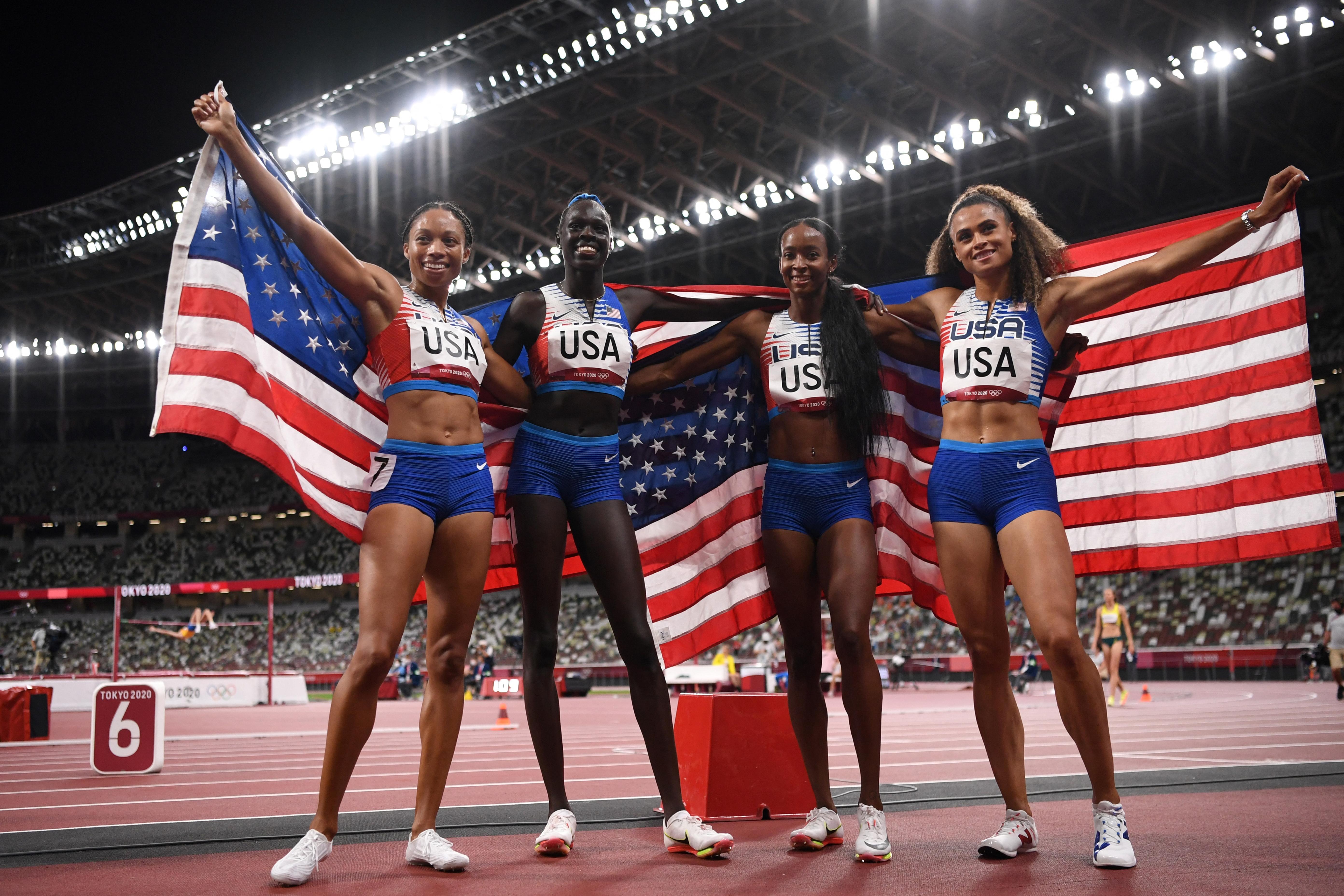 A hajrában az amerikaiak nyerték az éremversenyt