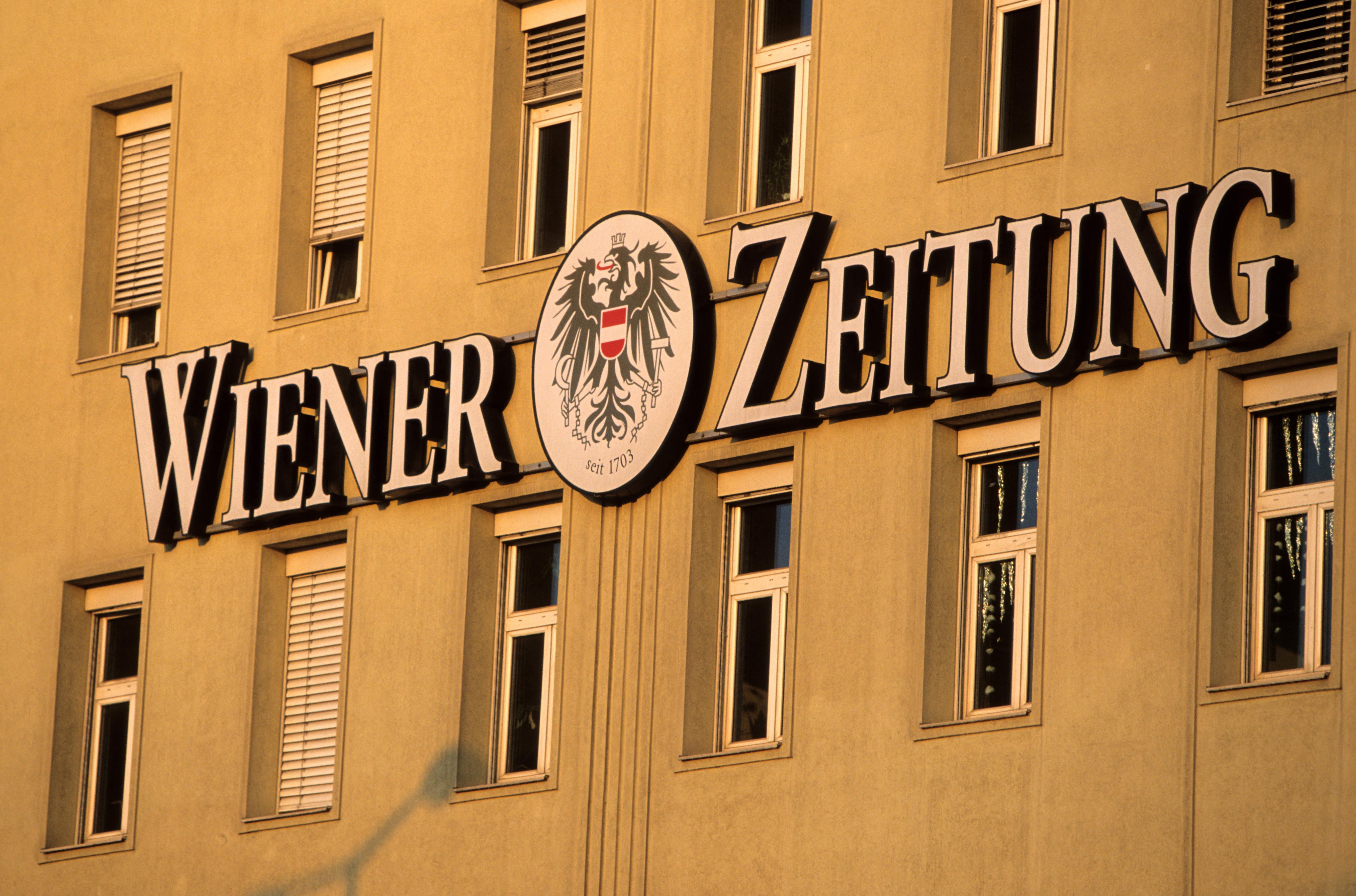 A 318 éves Wiener Zeitung eddig mindent túlélt, de Sebastian Kurzot már nem biztos, hogy túl fogja