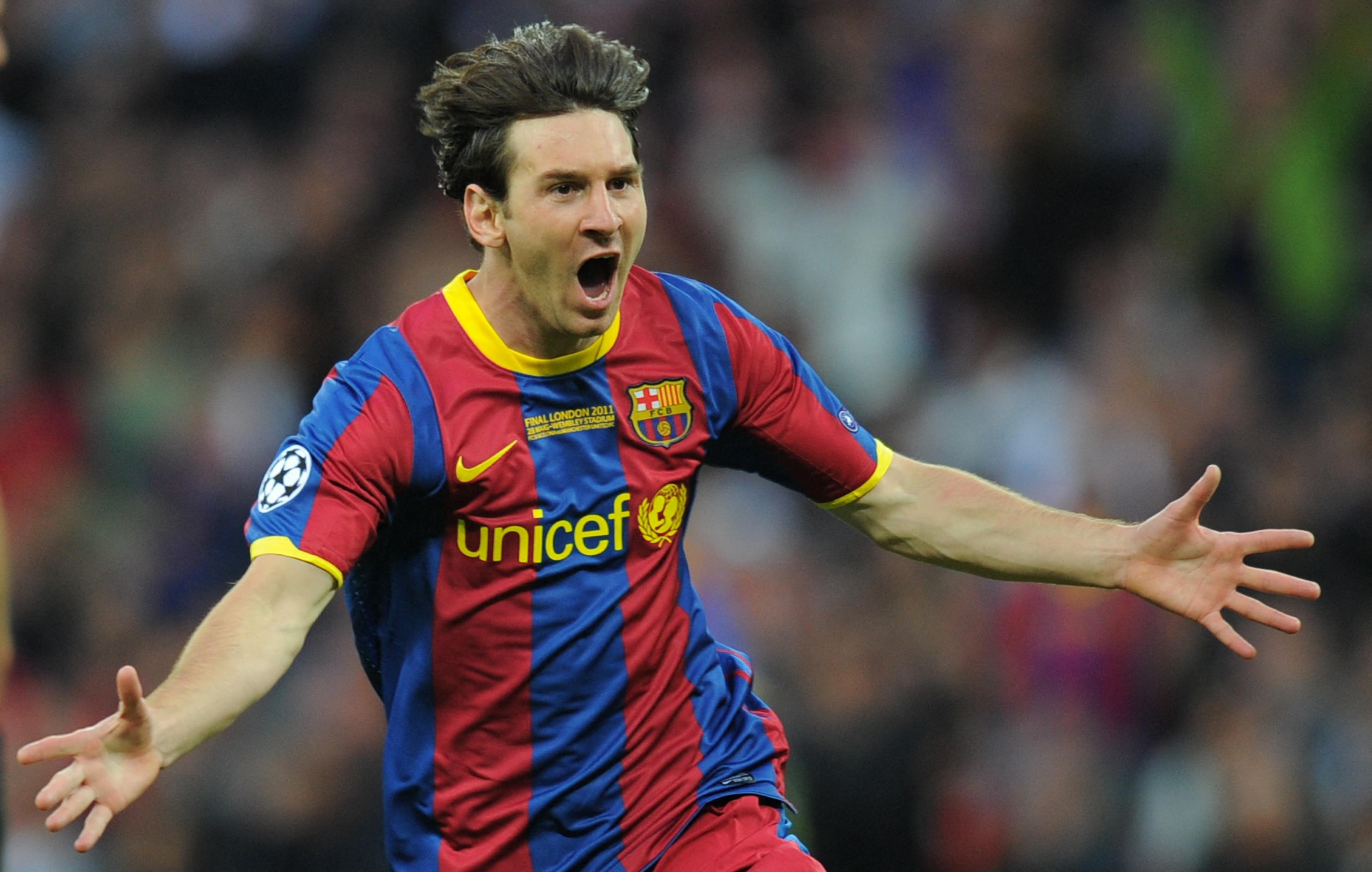 A legnagyobb: Messi Barcelonában