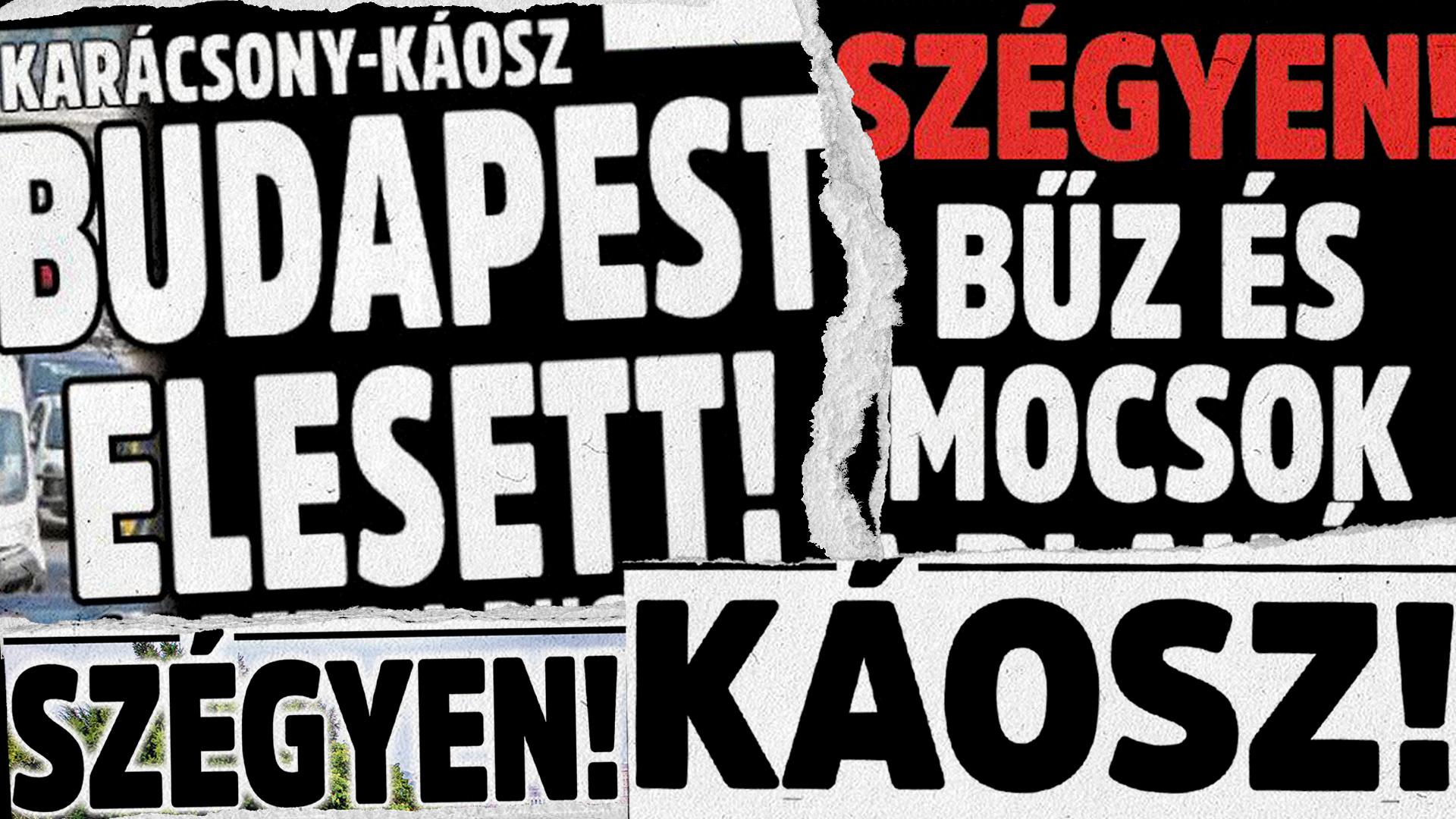 Üdvözöljük a bűzös, bűnös Budapesten!