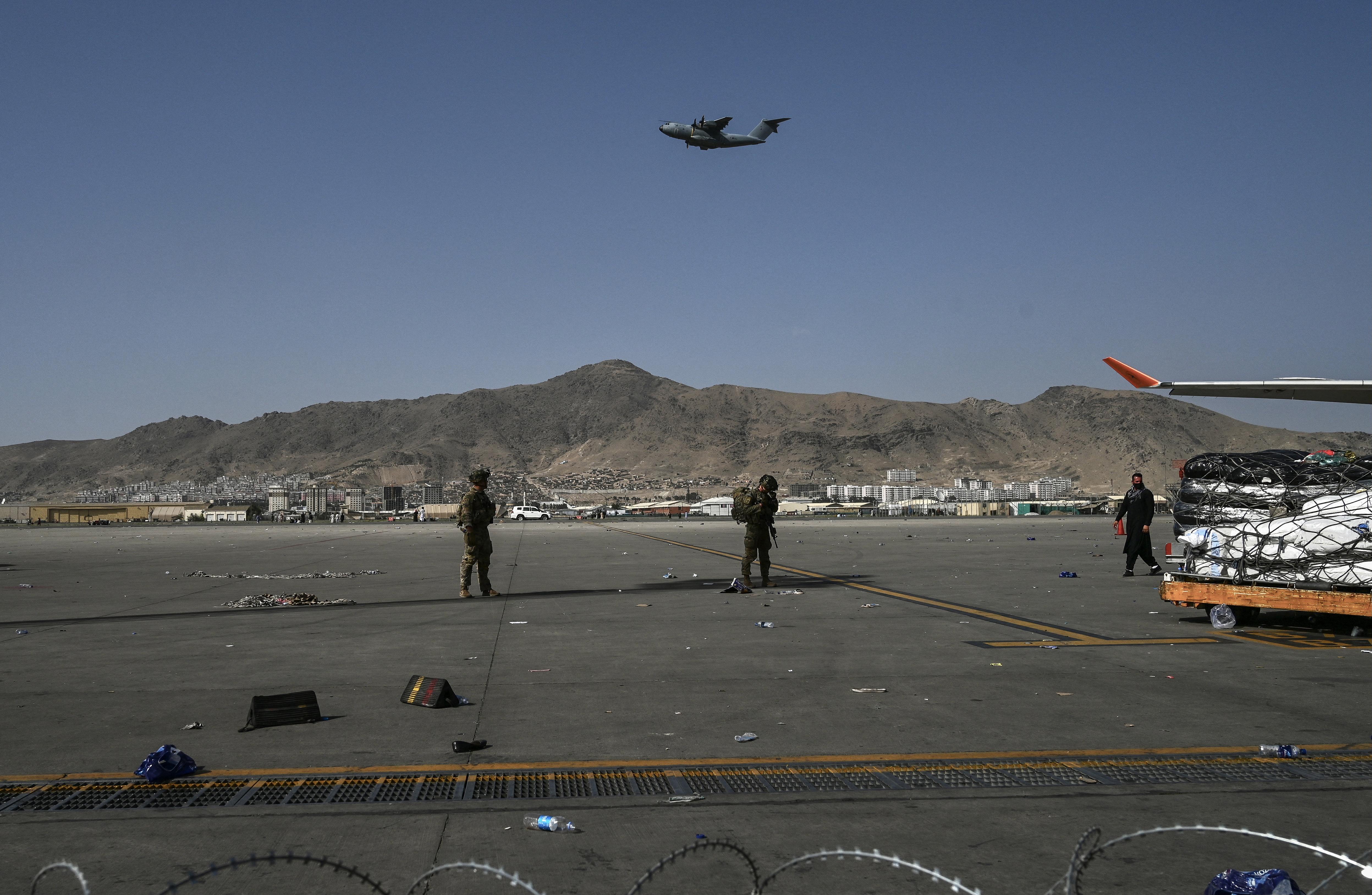 Az USA katonai csapást hajtott végre Kabulban