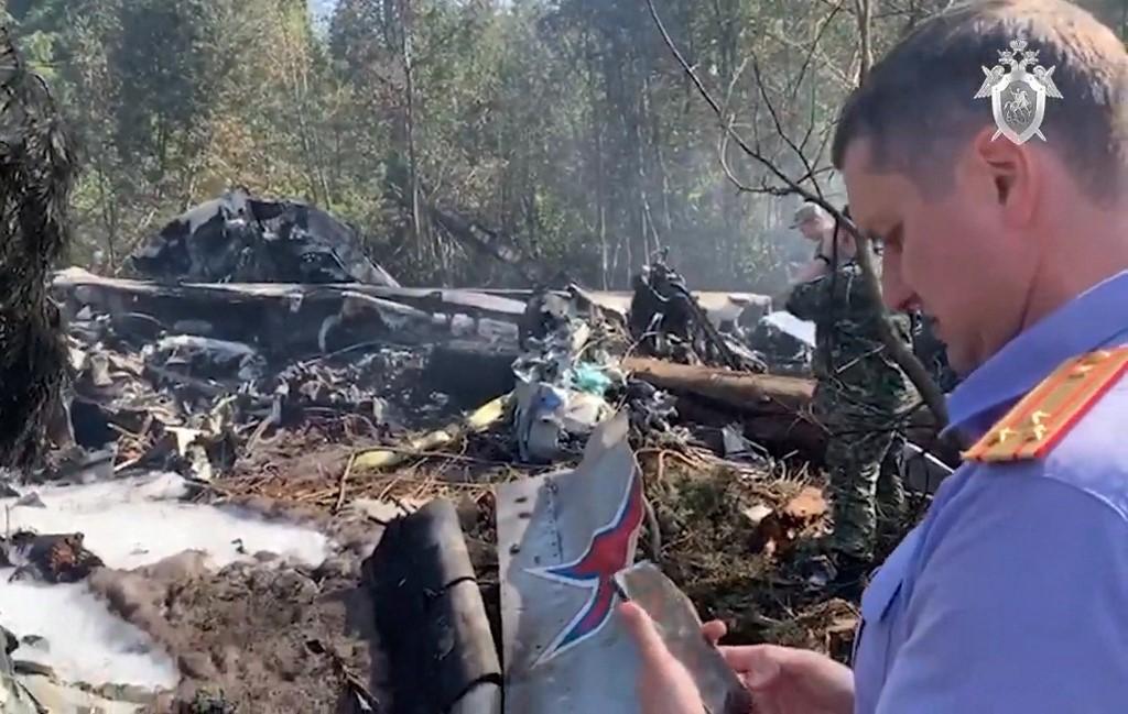 A legénység mindhárom tagja életét vesztette az orosz katonai teherszállító prototípusának balesetében