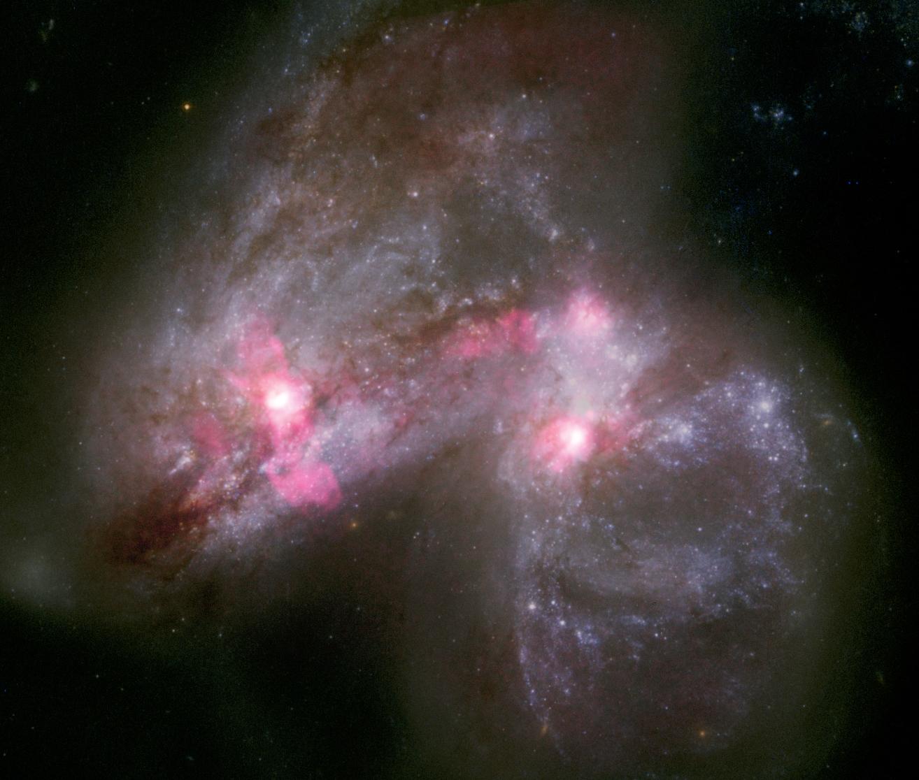 Minden eddiginél élesebb képeket készítettek messzi galaxisokról európai csillagászok