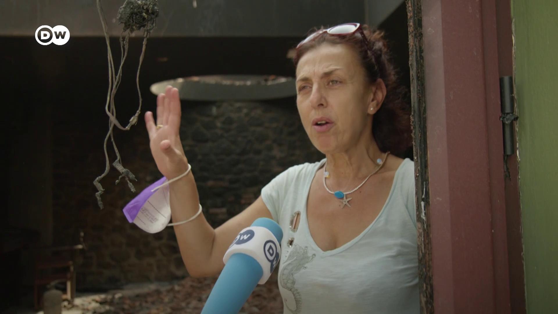 Tart a kárfelmérés a görög erdőtüzek után