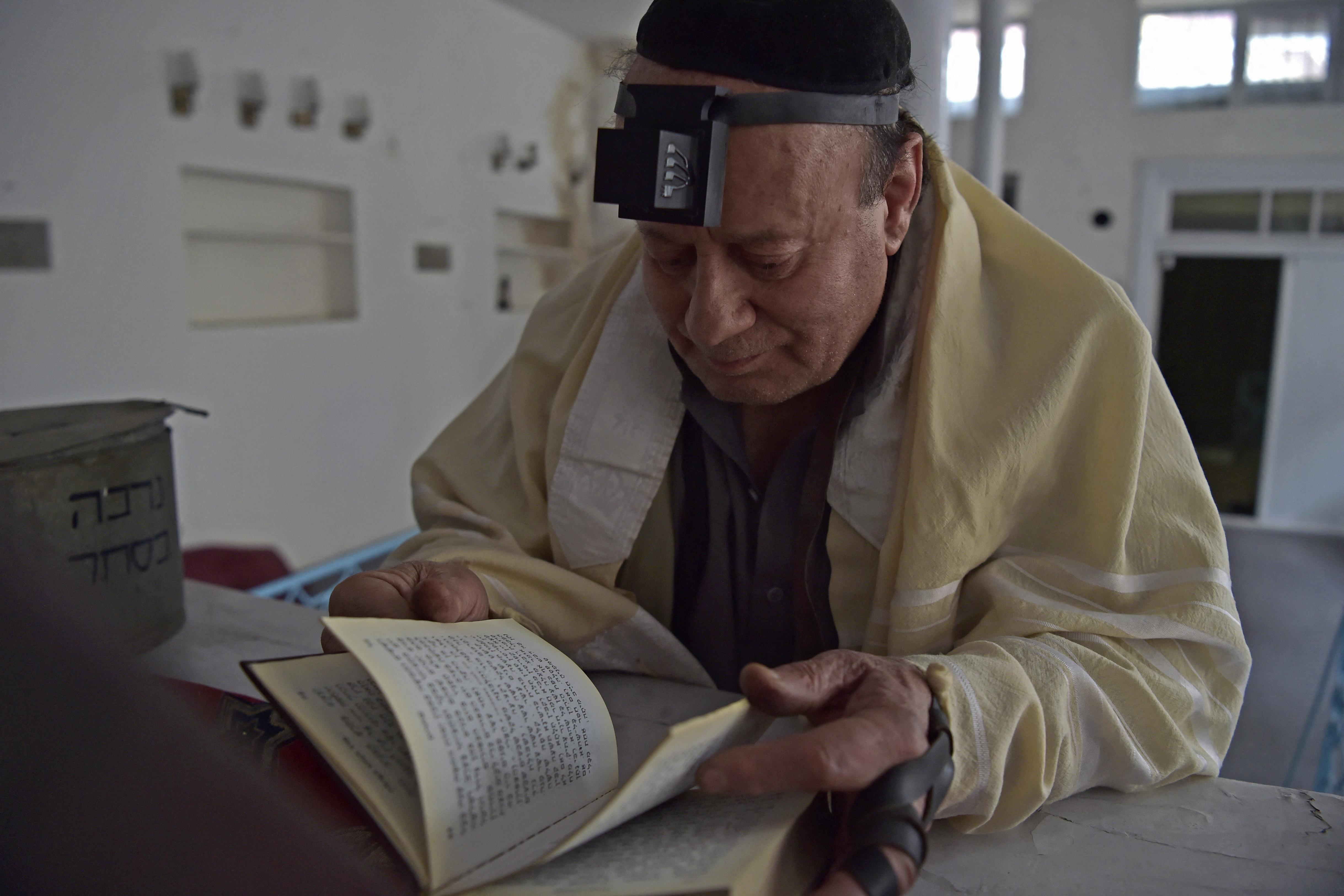 Nem megy sehová az utolsó afganisztáni zsidó