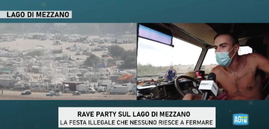 Óriási illegális rave party van Olaszországban, és egyelőre nem tudják leállítani