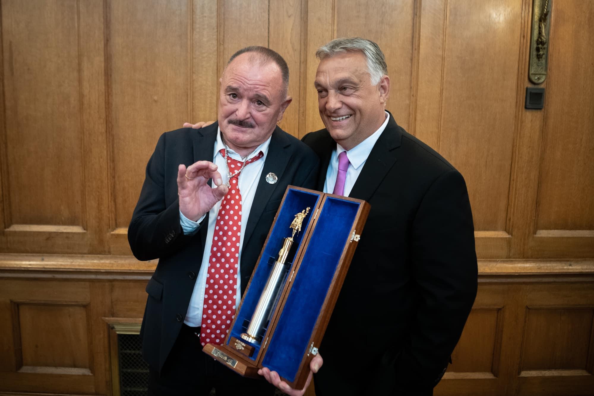 Kossuth-díjat kapott Nagy Feró és Tátrai Tibor