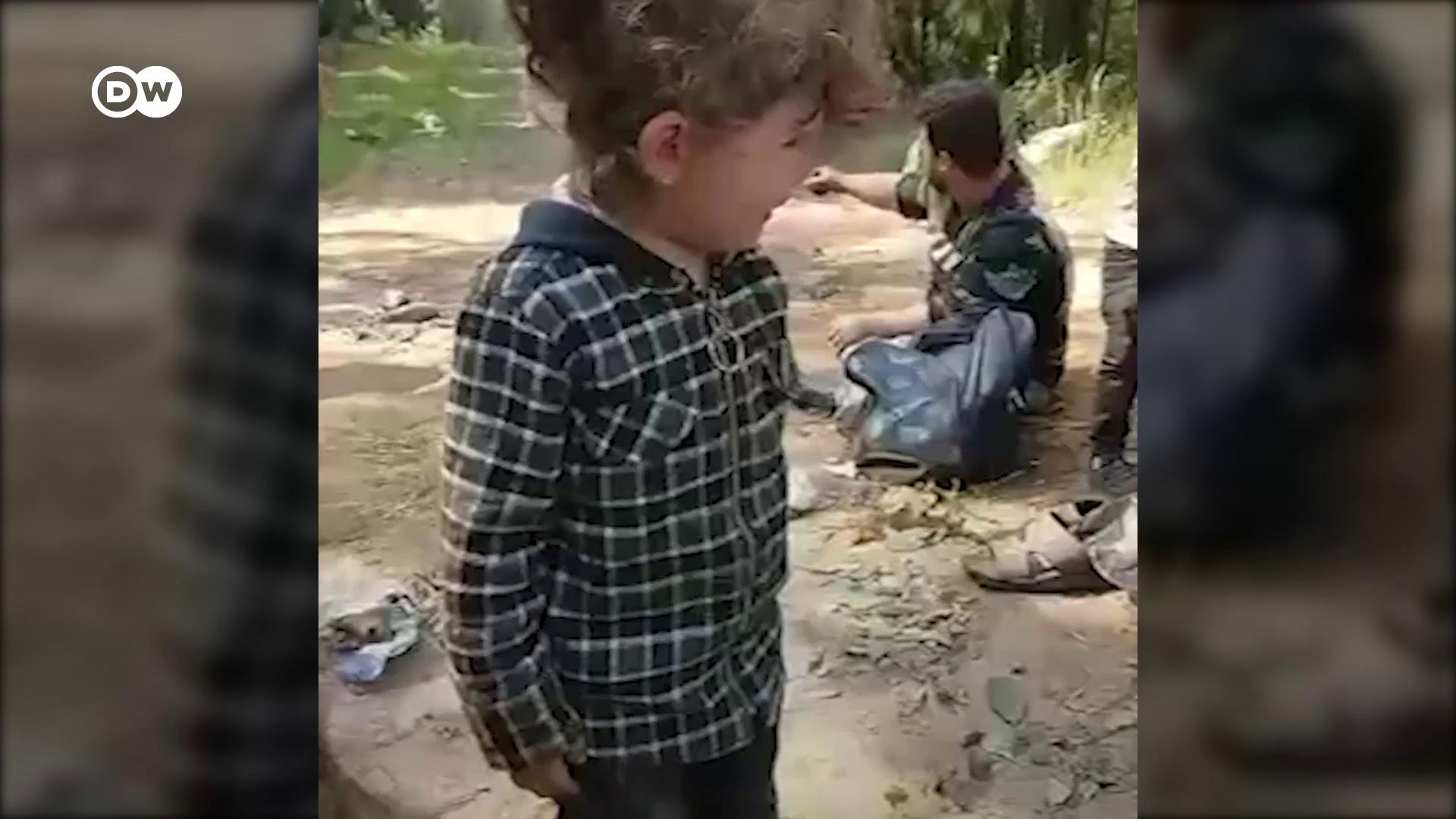 Belarusz határán éhezik iraki menekültek egy csoportja