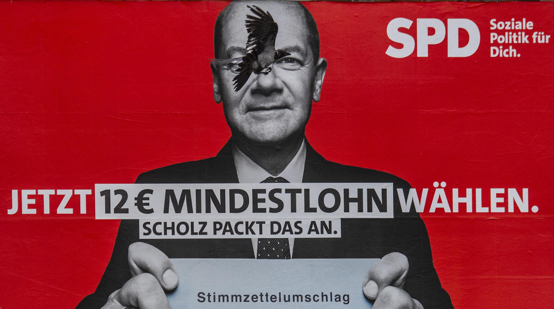 A német szociáldemokraták átvették a vezetést a kampányhajrában