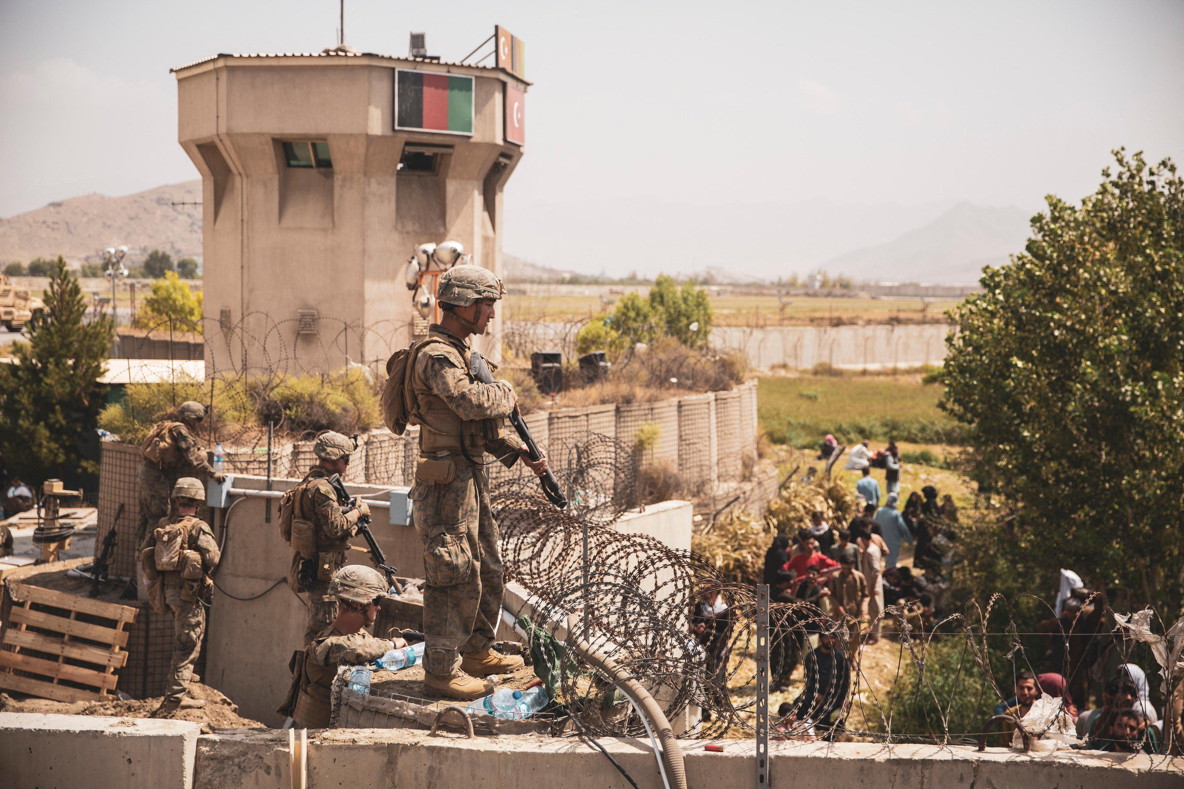 Rakétákat lőttek ki a kabuli reptérre