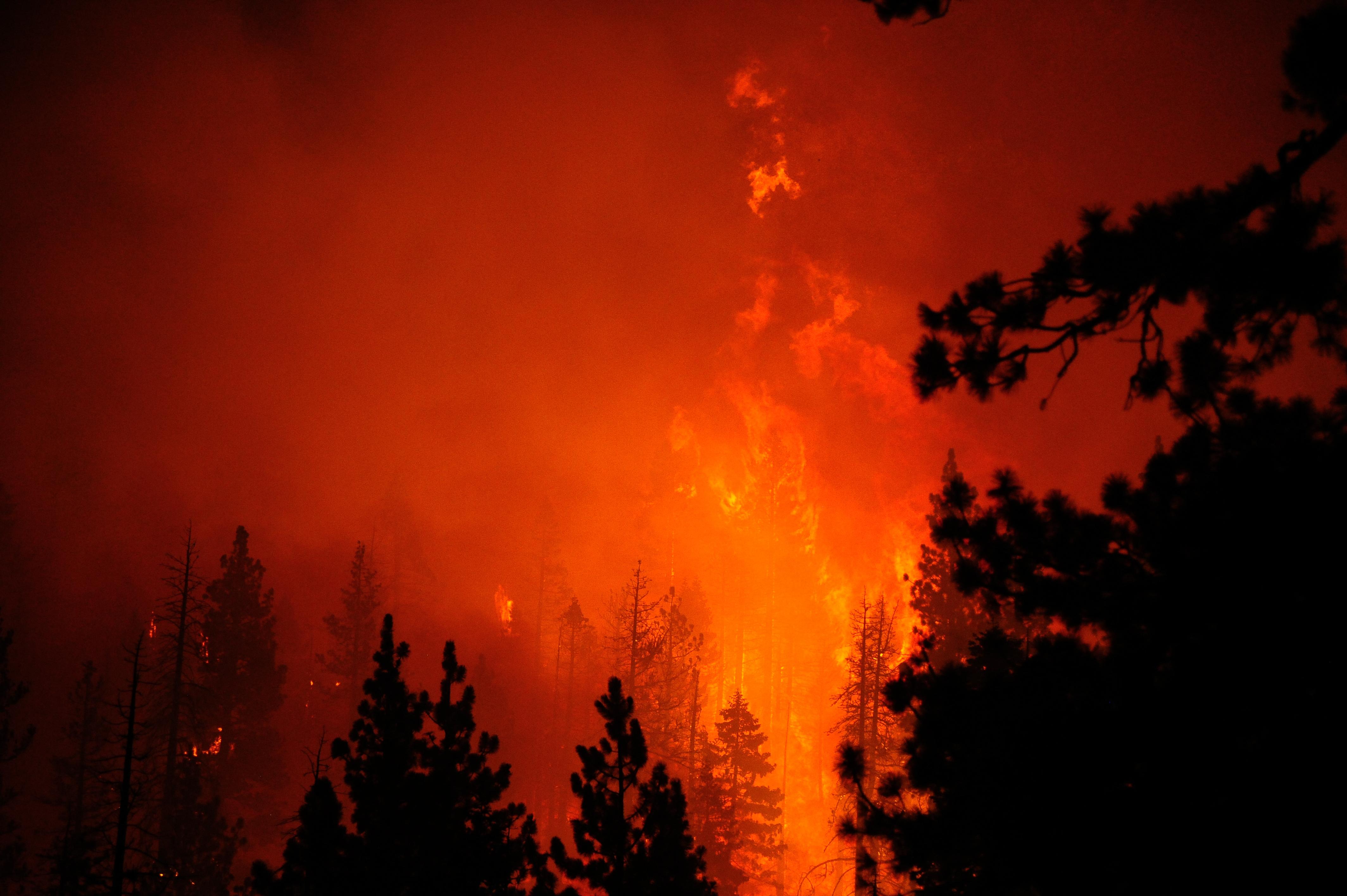 Erdőtűz miatt több tízezer embert telepítettek ki Kaliforniában