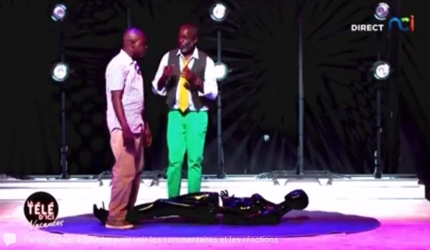 Nemi erőszakon viccelődött, felfüggesztett börtönt kapott az elefántcsontparti sztárműsorvezető