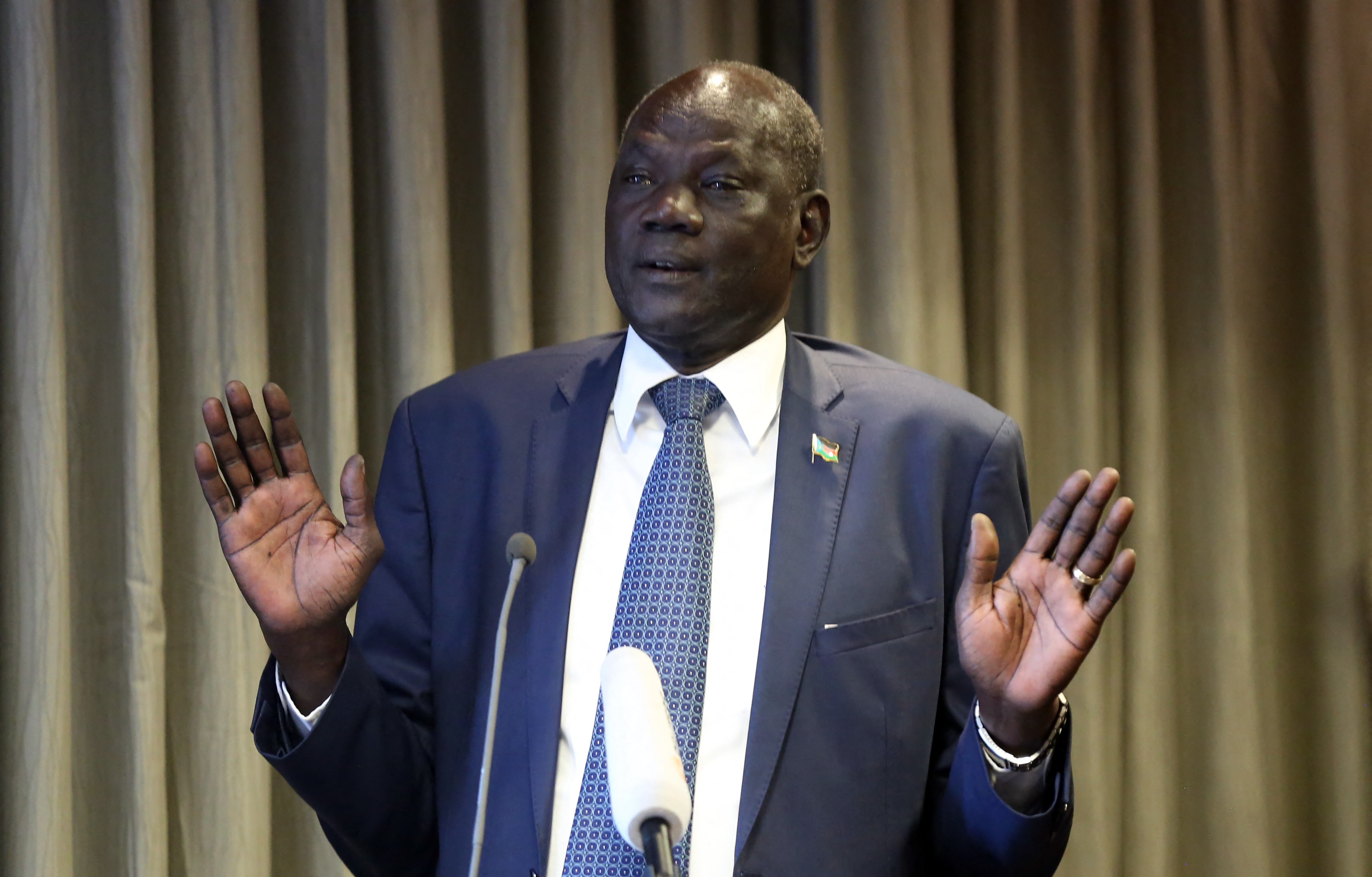 A dél-szudáni miniszter kikezdhetetlen logikával magyarázta meg, hogy miért nem tüntethet az ellenzék az országban