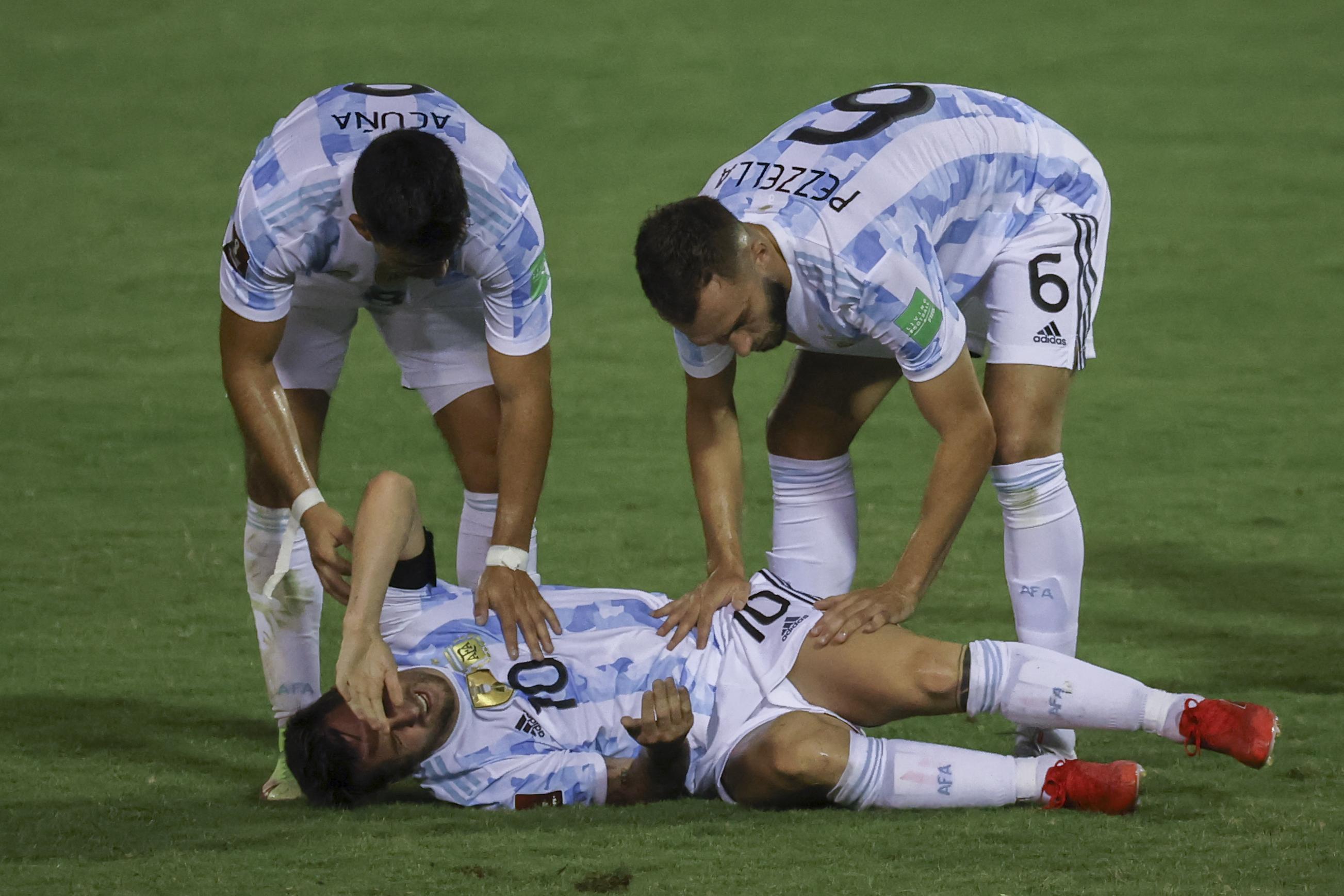 Messi majdnem csúnyán lesérült