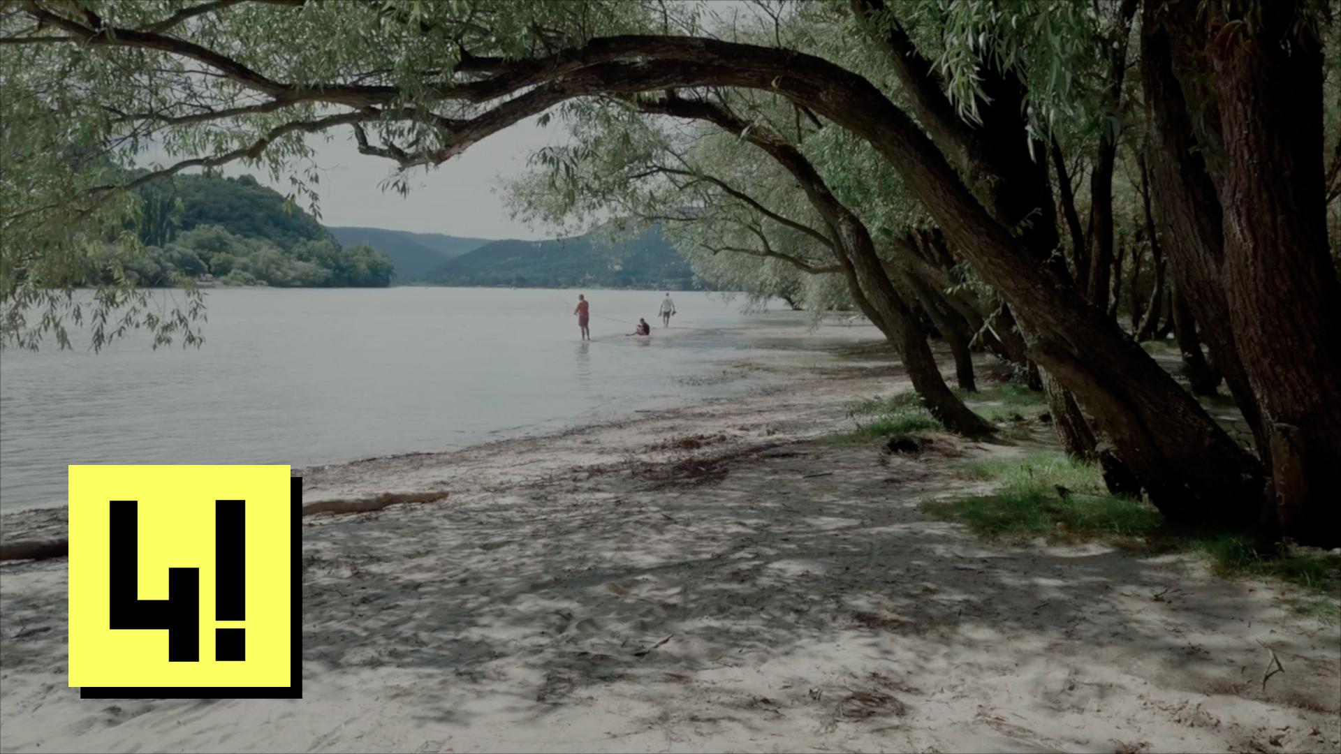 Itt a természetvédelmi területet kellene látni, nem a strandot