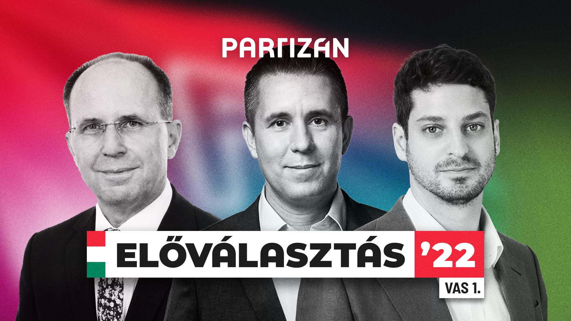 Ungár Péter és Czeglédy Csaba csap össze a Partizán előválasztási vitasorozatának első estéjén