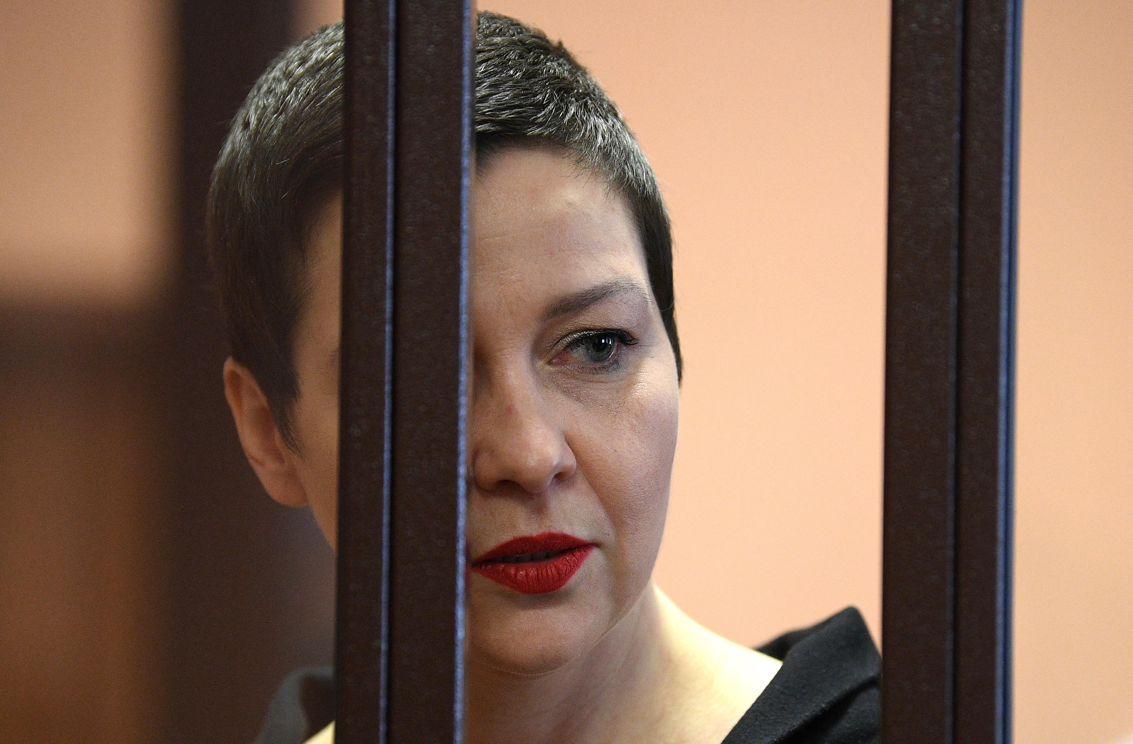 Tizenegy év börtönre ítélték Marija Kalesznyikava fehérorosz ellenzéki vezetőt