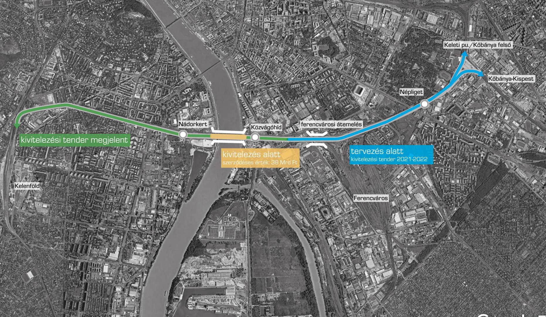 337 milliárdból korszerűsítik a vonatközlekedést Mészáros Lőrincék Budapest déli részén