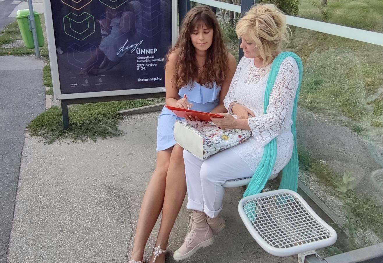 Dunai Mónika: A buszra várva odalépett hozzám egy kedves rákosmenti fiatal, hogy támogatni szeretné aláírásgyűjtő akciónkat