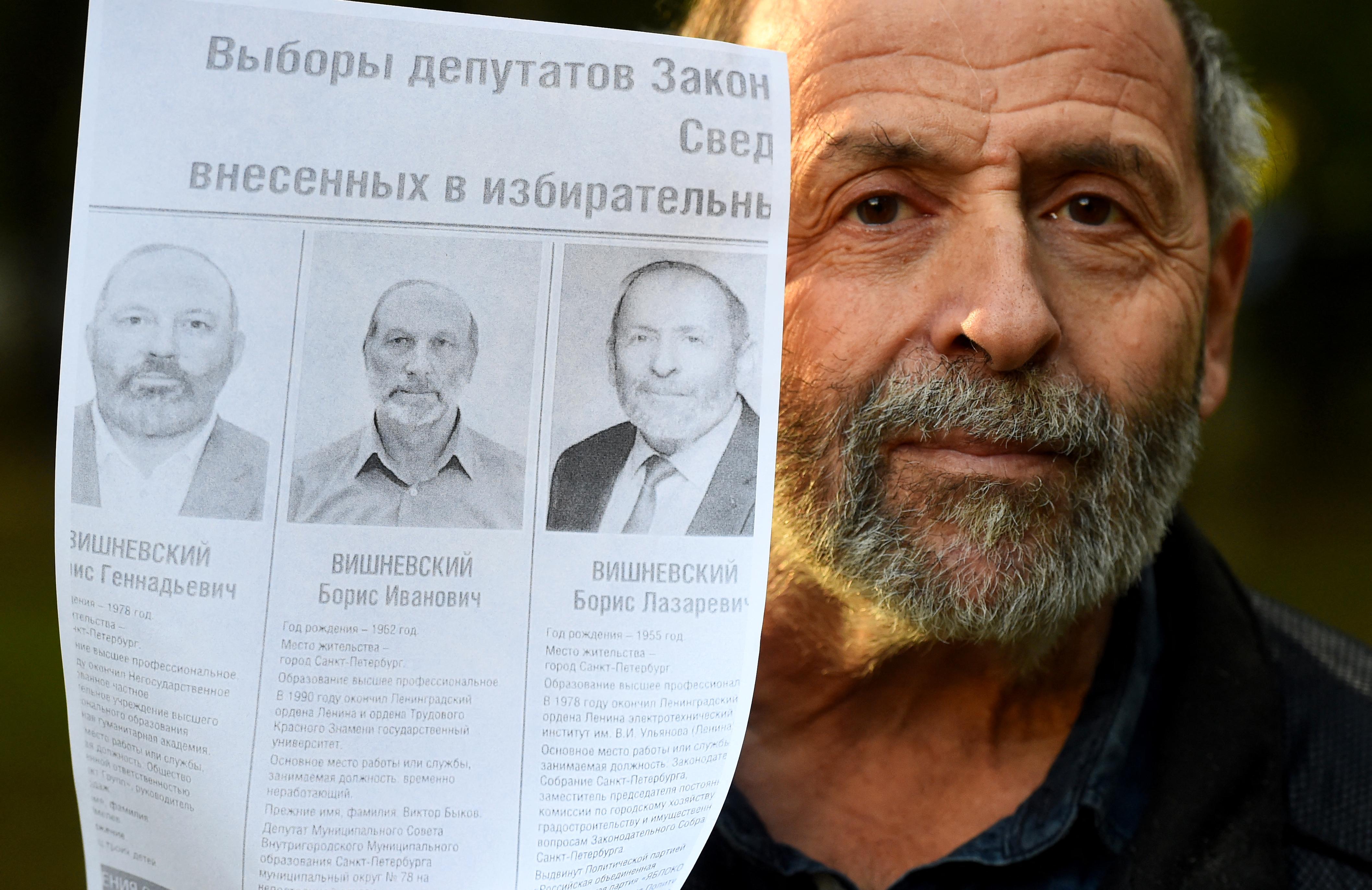 Három jelölt indul Borisz Visnyevszkij néven ugyanabban a szentpétervári választókerületben