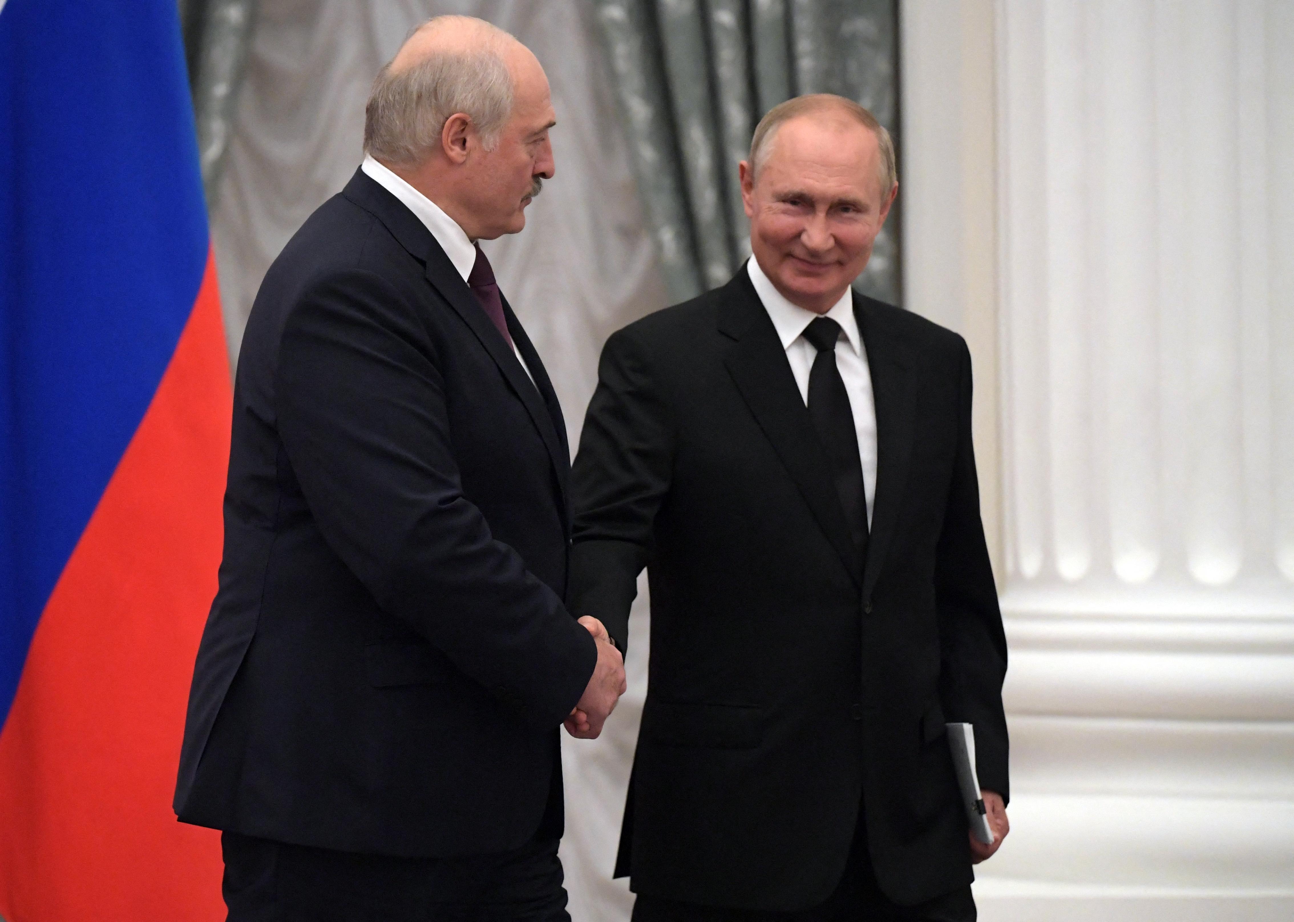 A fehérorosz diktátor megegyezett Putyinnal, hogy még jobban integrálják országaikat