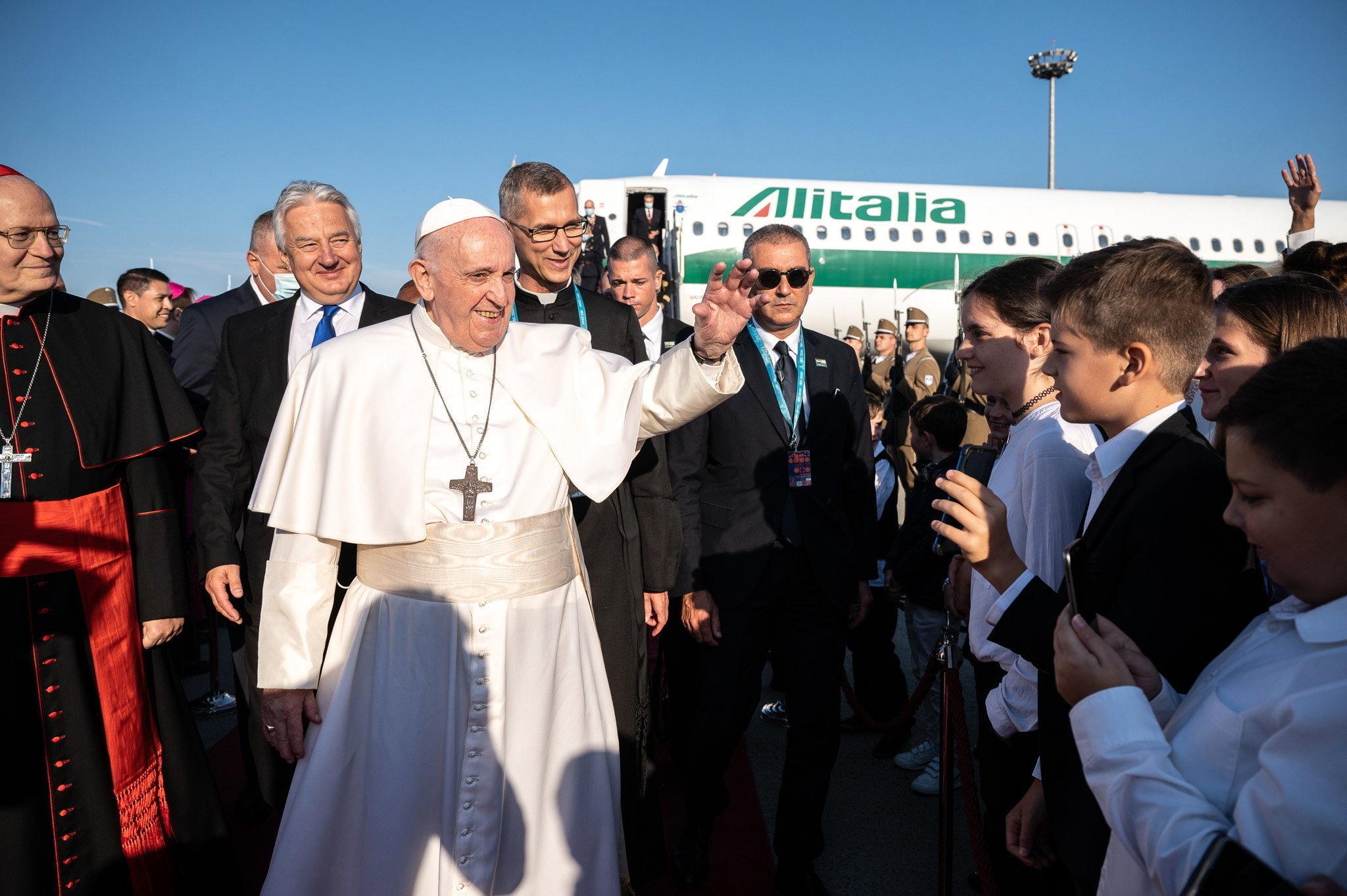 Ferenc pápa Budapesten
