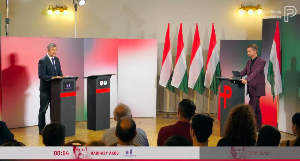 Tóth Csabáról voltak a legizzasztóbb kérdések a Tóth Csaba nélküli zuglói képviselőjelölti vitán