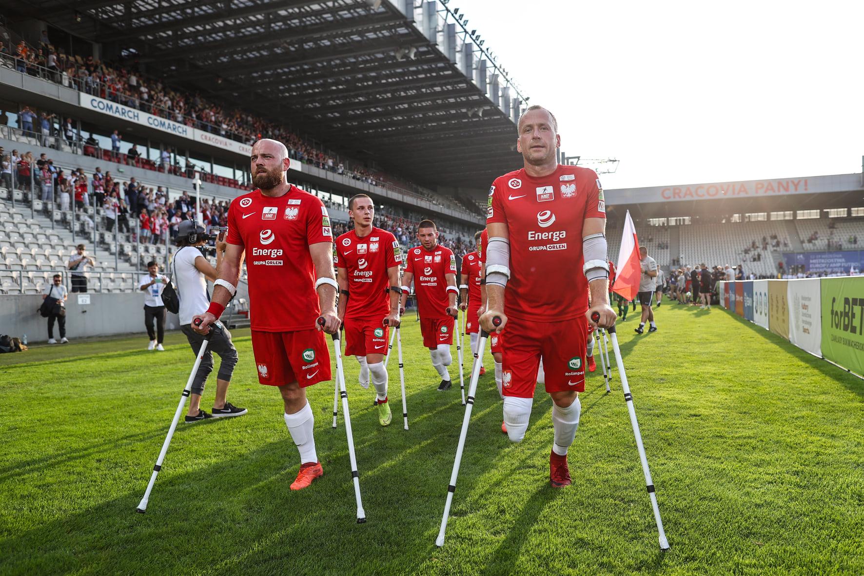 Lengyel győzelemmel indult az amputáltak labdarúgó Európa Bajnoksága
