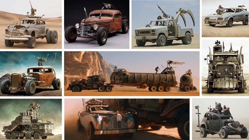 Elárverezik a 2015-ös Mad Max járműflottáját